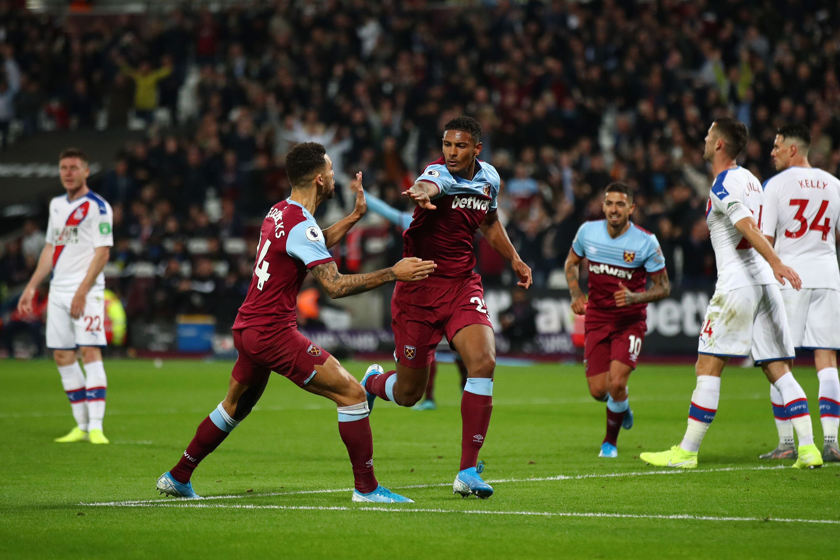 We keep high hopes and relive West Ham United's goal vs Crystal Palace