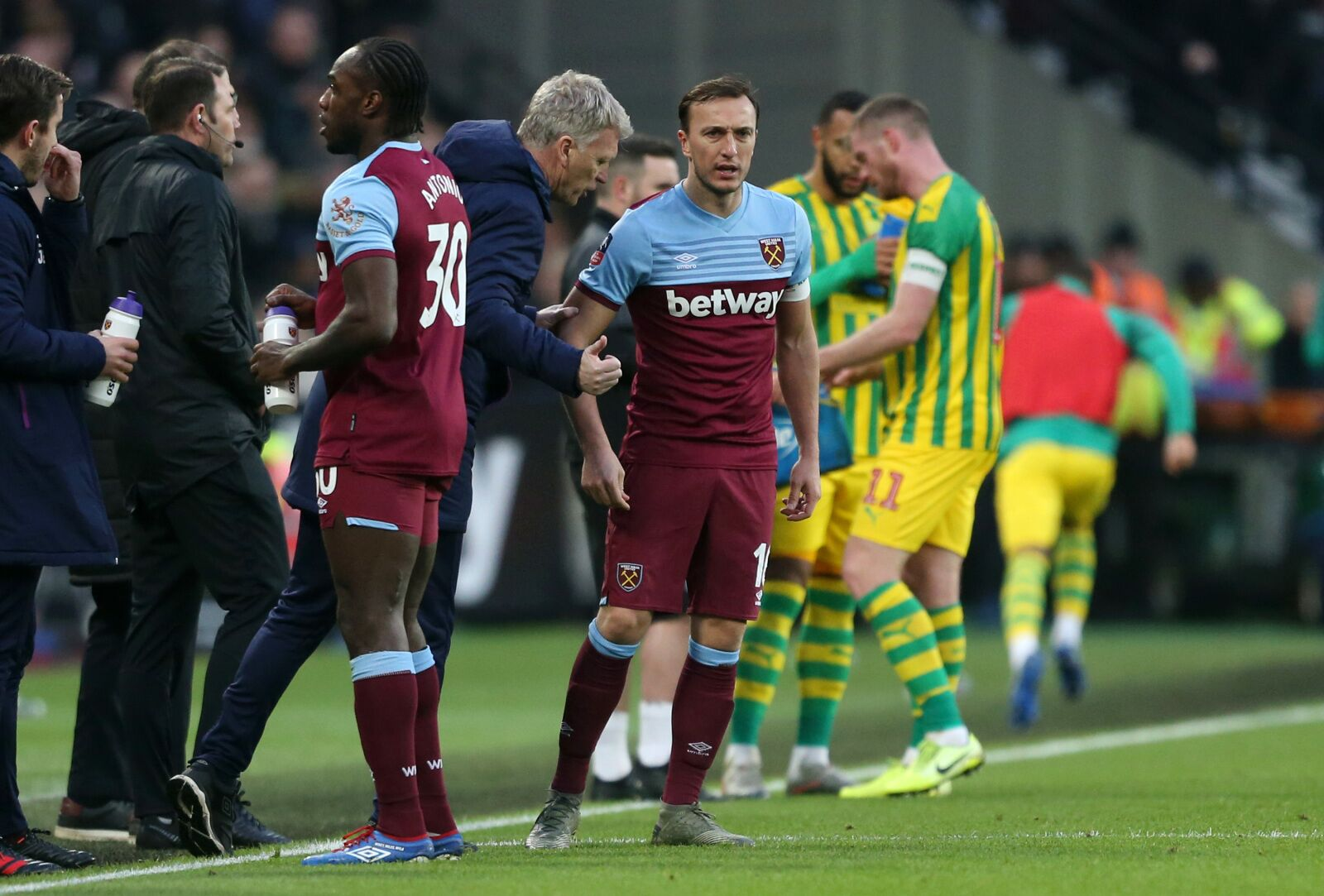 Mr. West Ham, Mark Noble, had a few things to say after last weekend