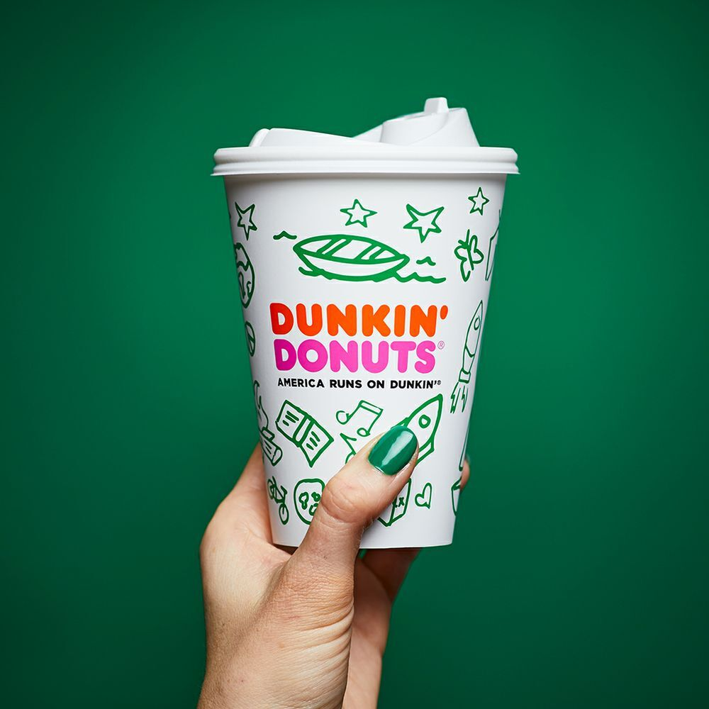 Dunkin' Donuts Is Reviving The Girl Scout Cookie Coffee Menu