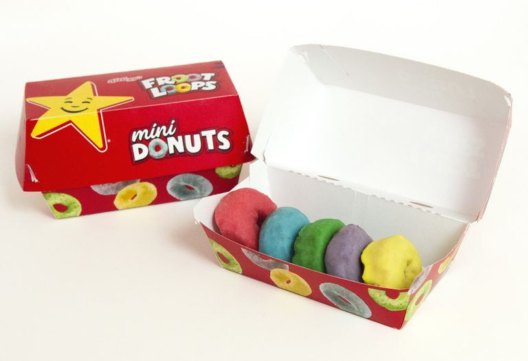 Carl's Jr. and Hardee's Froot Loops Mini Donuts are back!