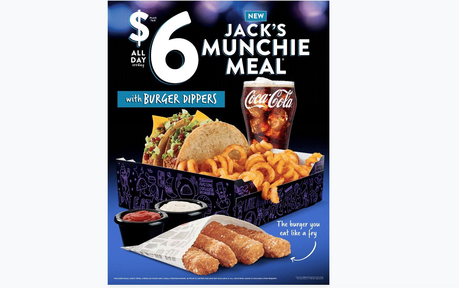 Jack in the Box: New Burger Dippers are a must-have