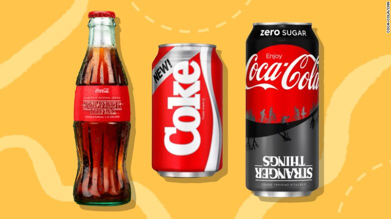 Where can you order New Coke and Stranger Things 1985 Limited Edition Collector's Pack?