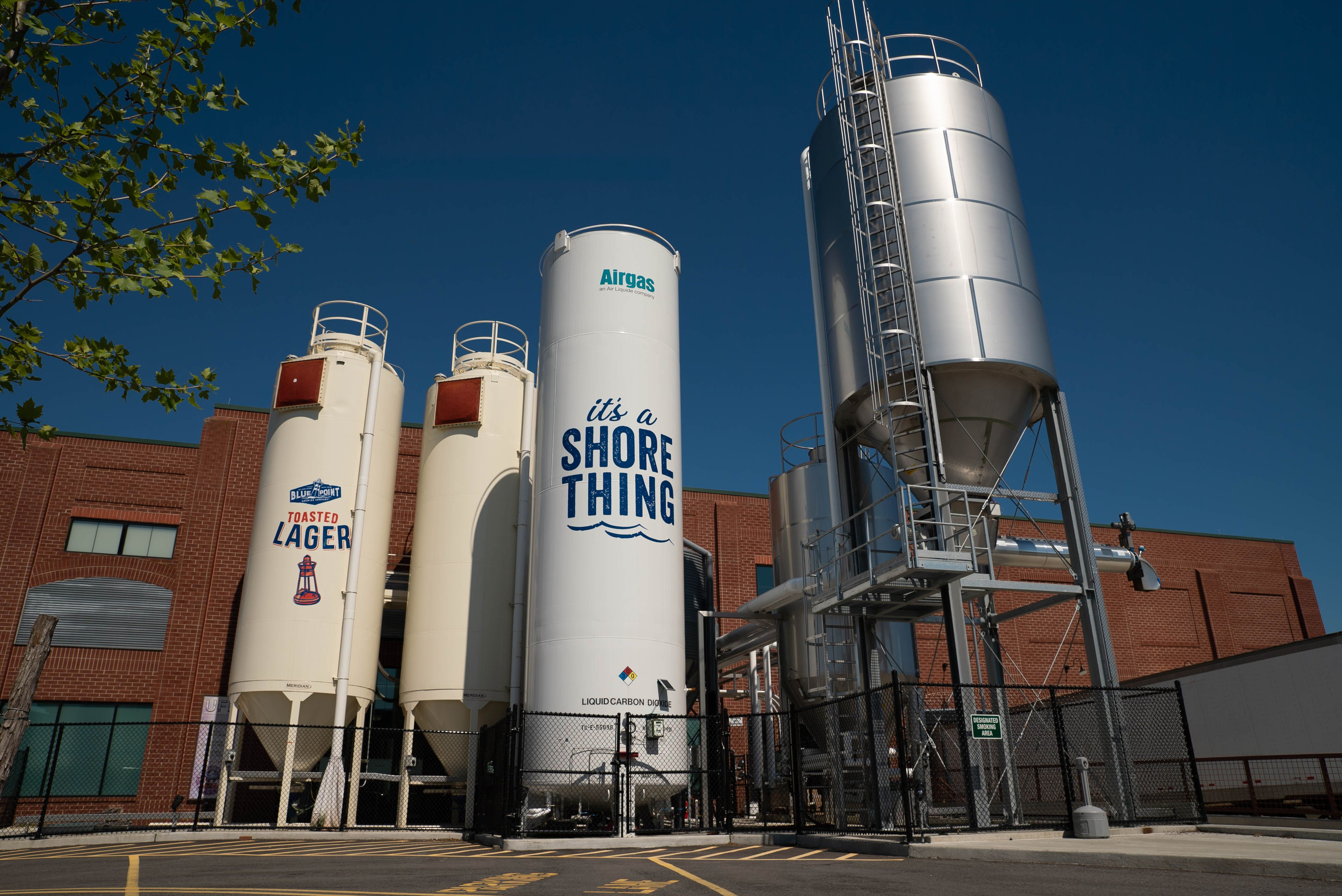 Blue Point Brewery is a destination stop on Long Island