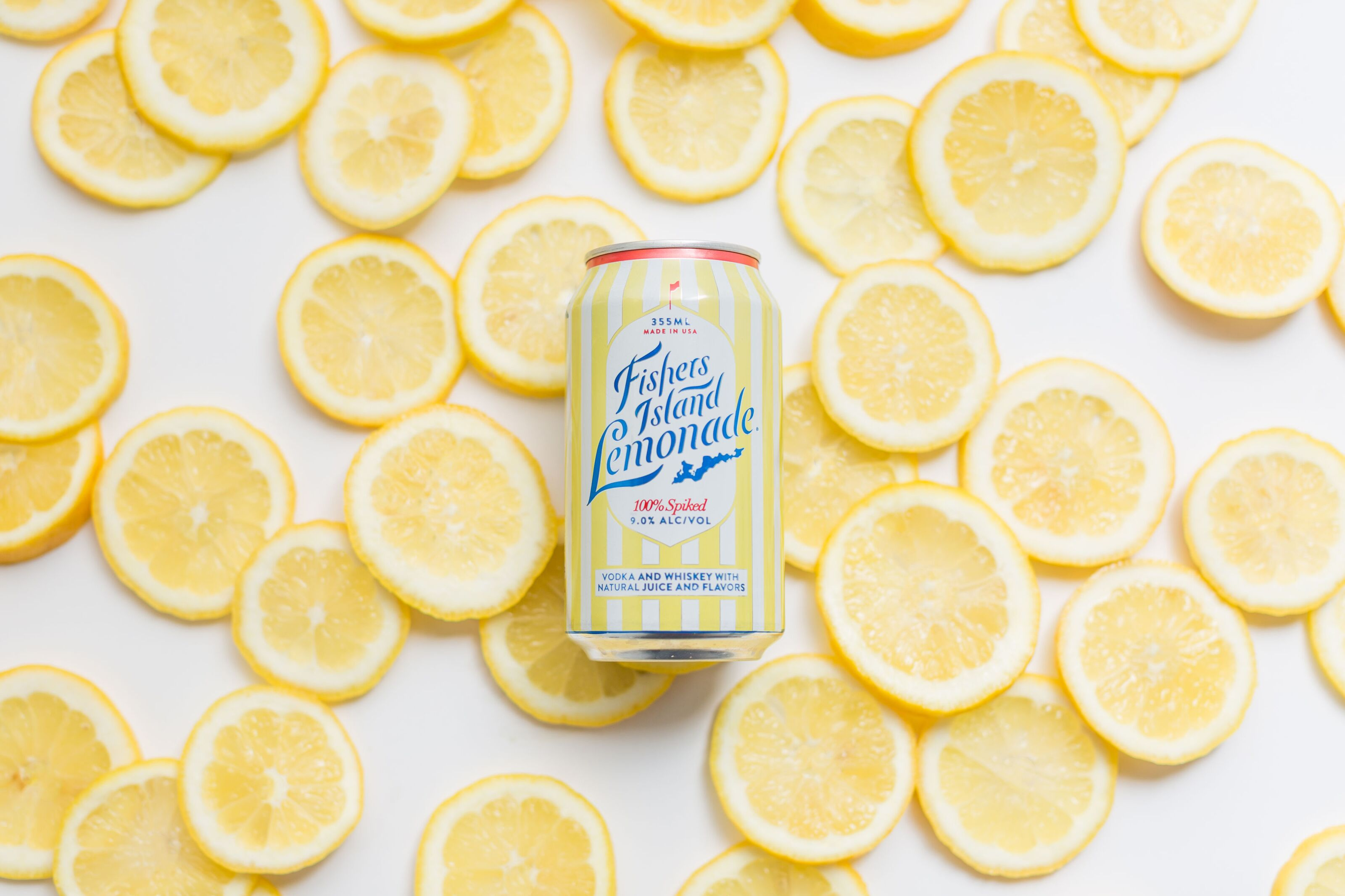 Fishers Island Lemonade is hard lemonade for summer and winter