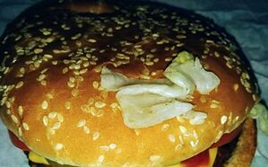 Impossible Whopper unwrapped