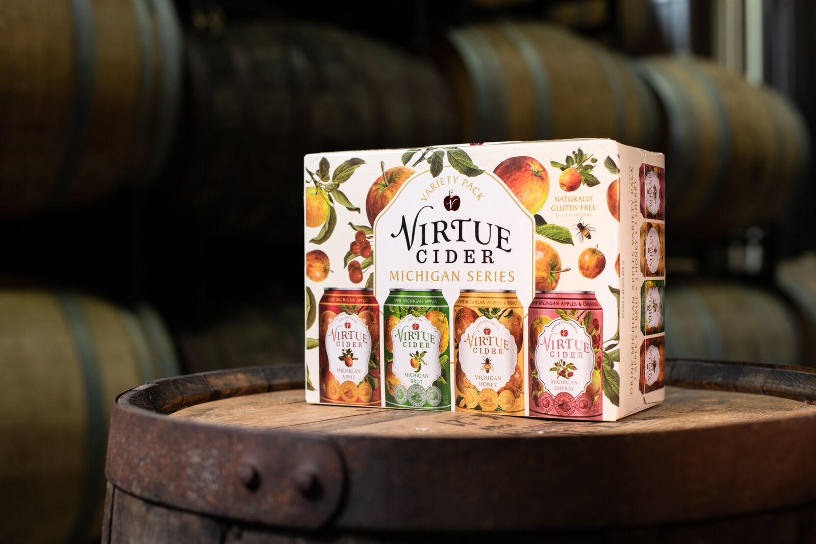 Virtue Cider offering the perfection collection of seasonal drinks