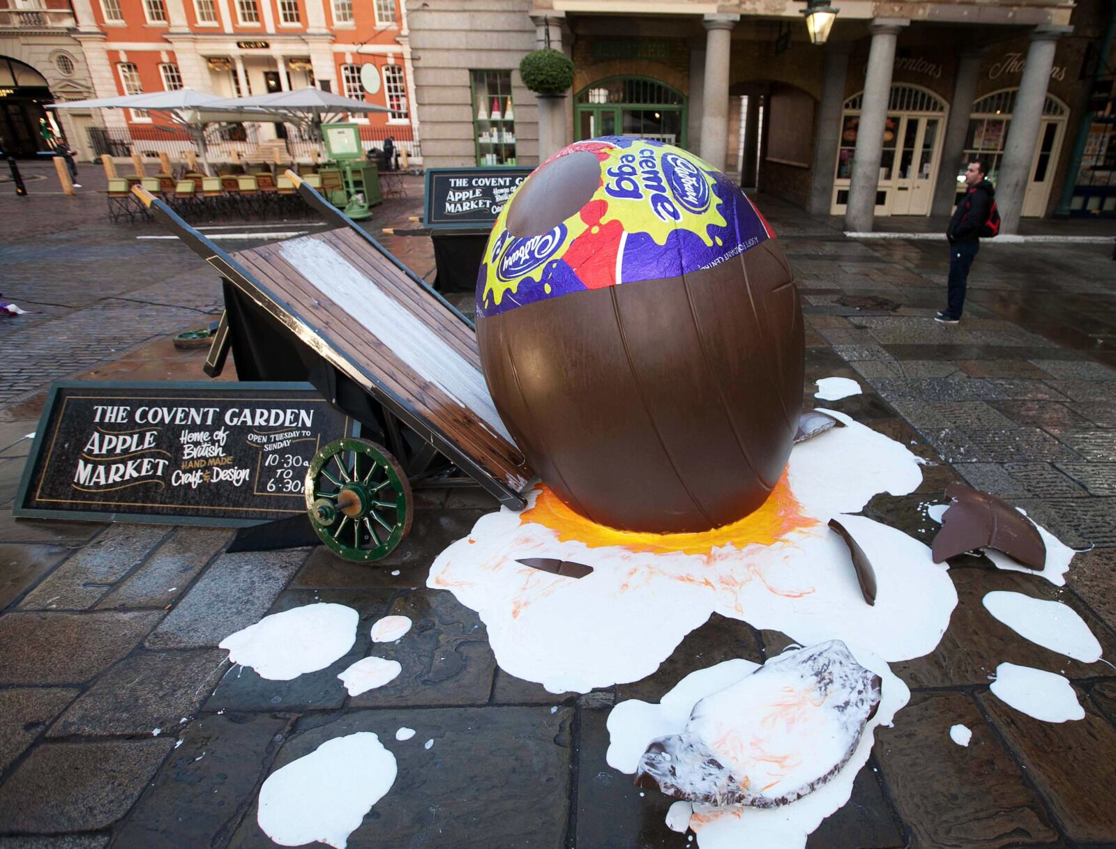 Cadbury in the UK looking for professional creme egg hunters