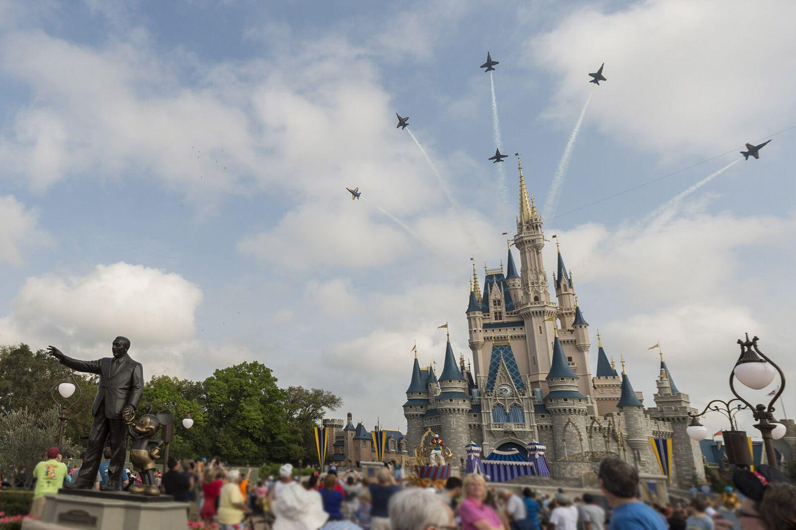 Is outside food allowed at Walt Disney World parks?