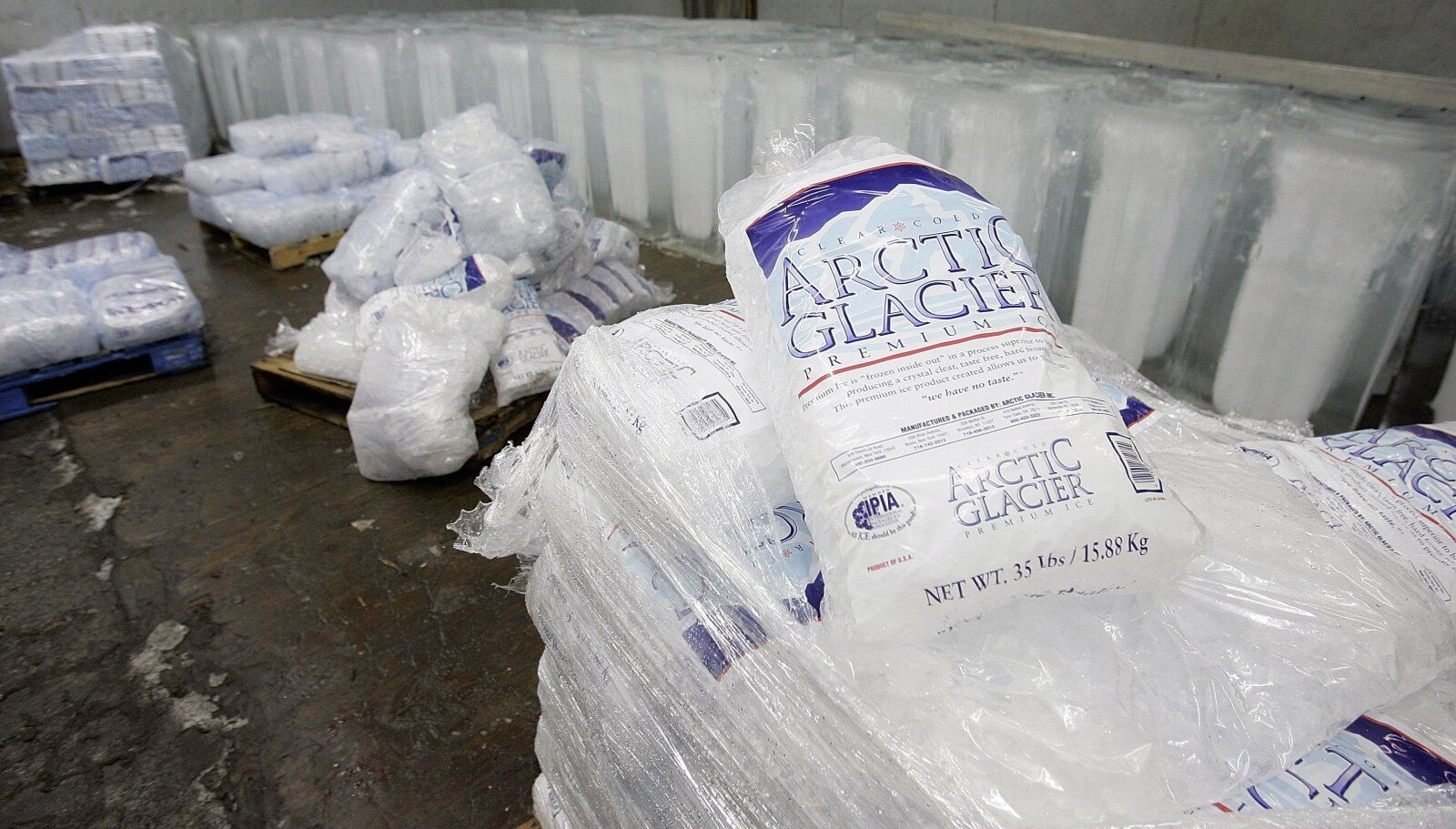 Why in the world are fast food restaurants selling bags of ice?