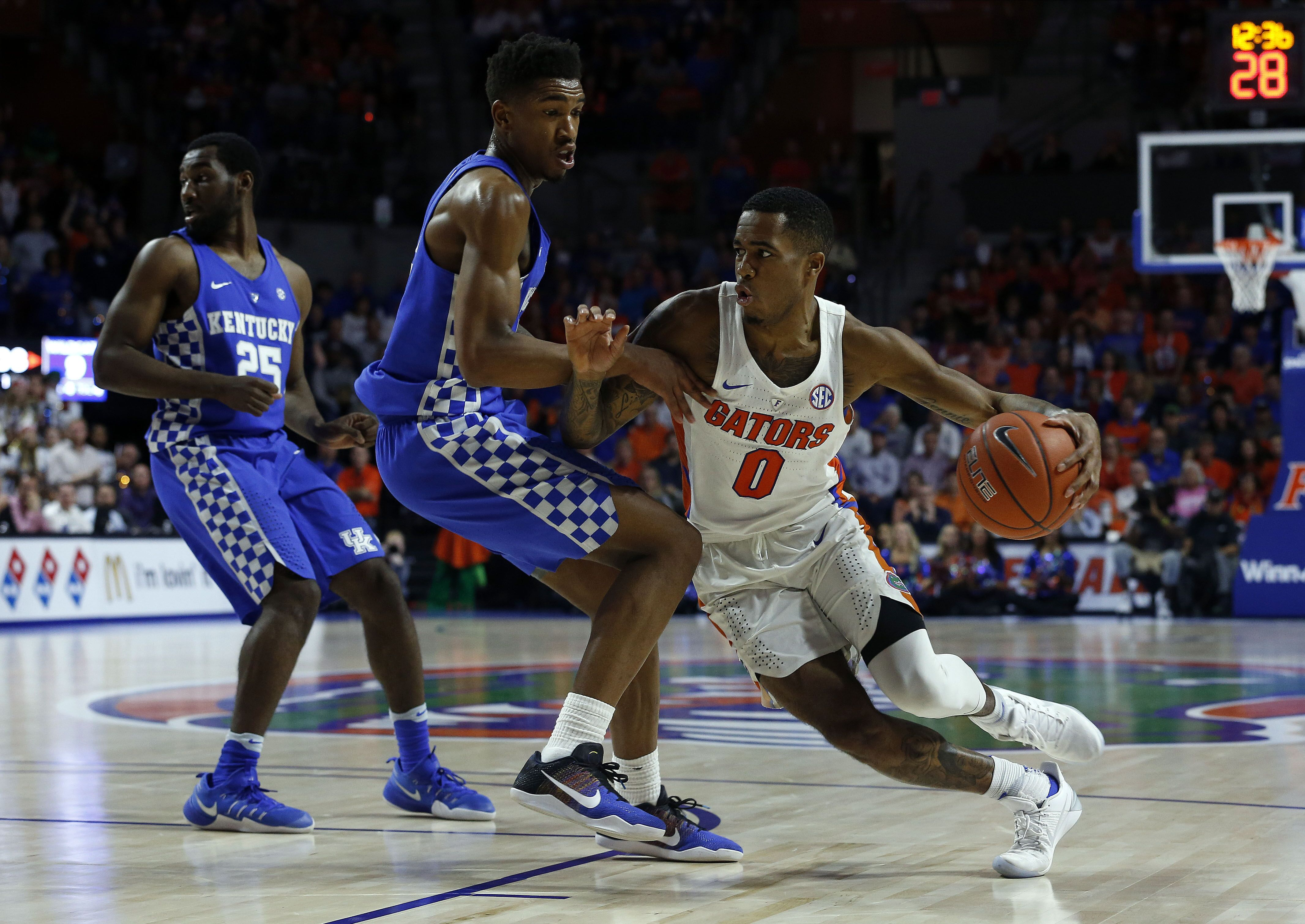 Kentucky S Malik Monk Named Ap Sec Player Of The Year: Florida Gators Basketball: Kasey Hill Improves Legacy