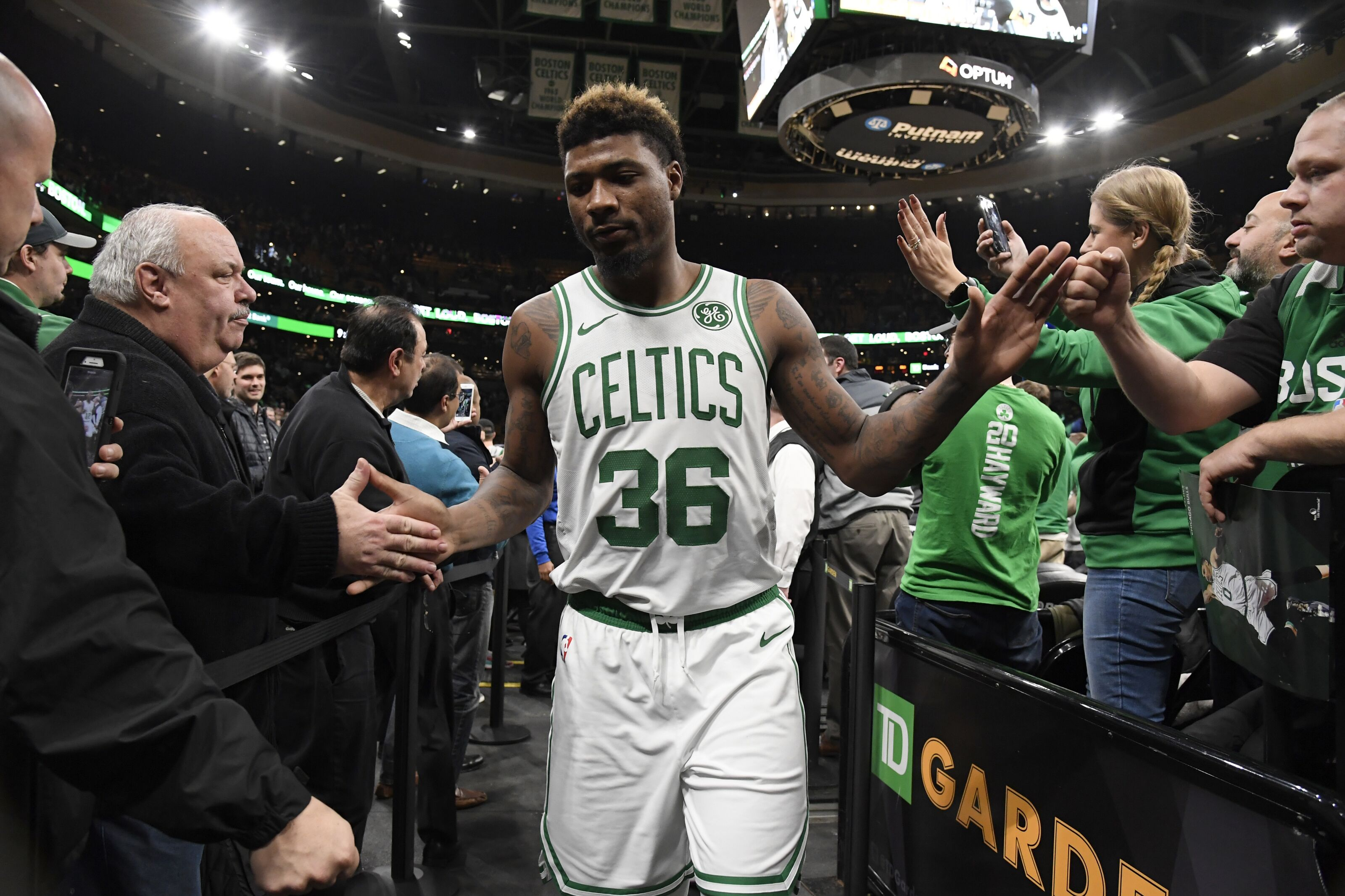 f9aea3cc2 Should The Boston Celtics Keep Marcus Smart in the Starting Lineup