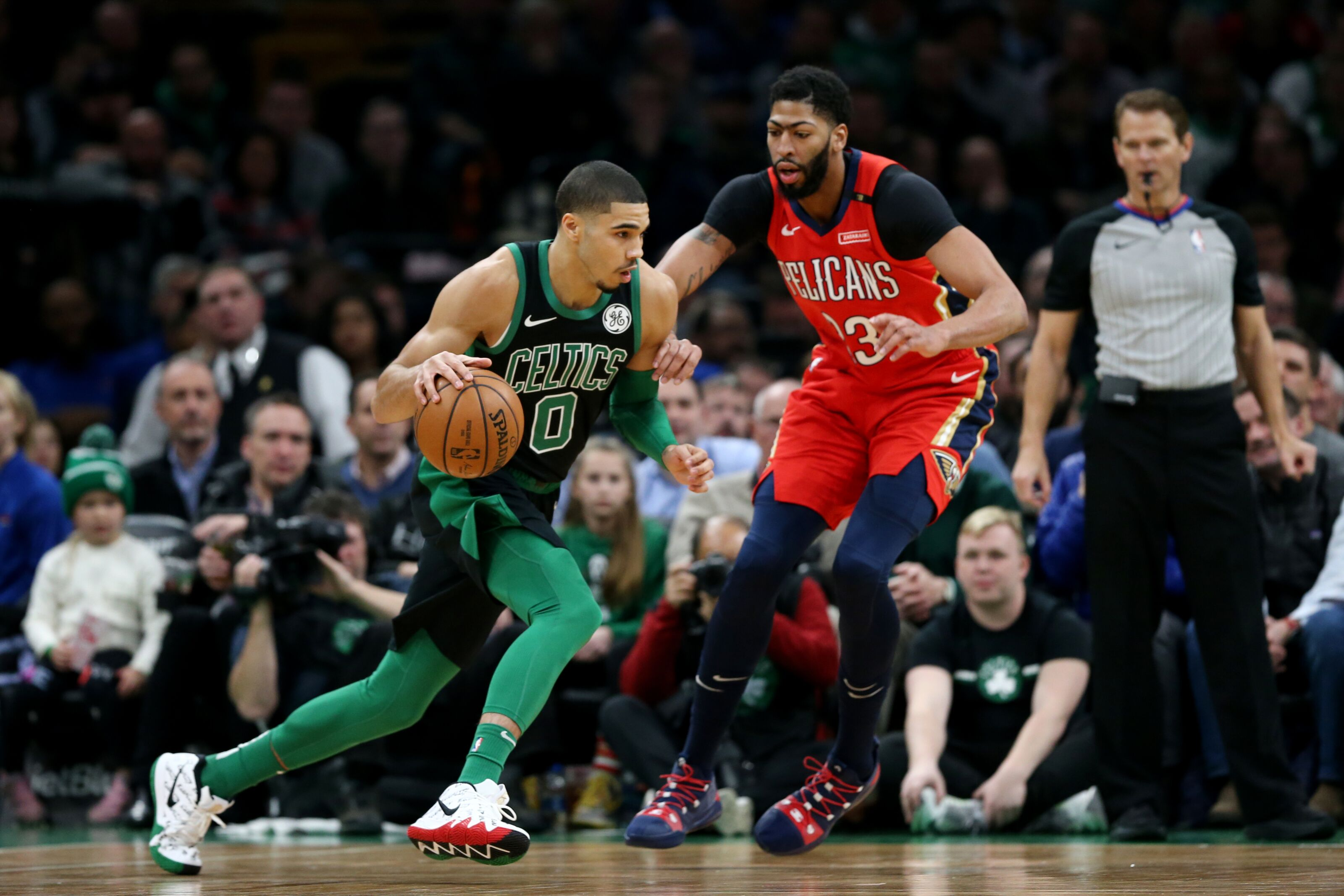 The Boston Celtics are on Anthony Davis  list of desired trade destinations 56c666eb0