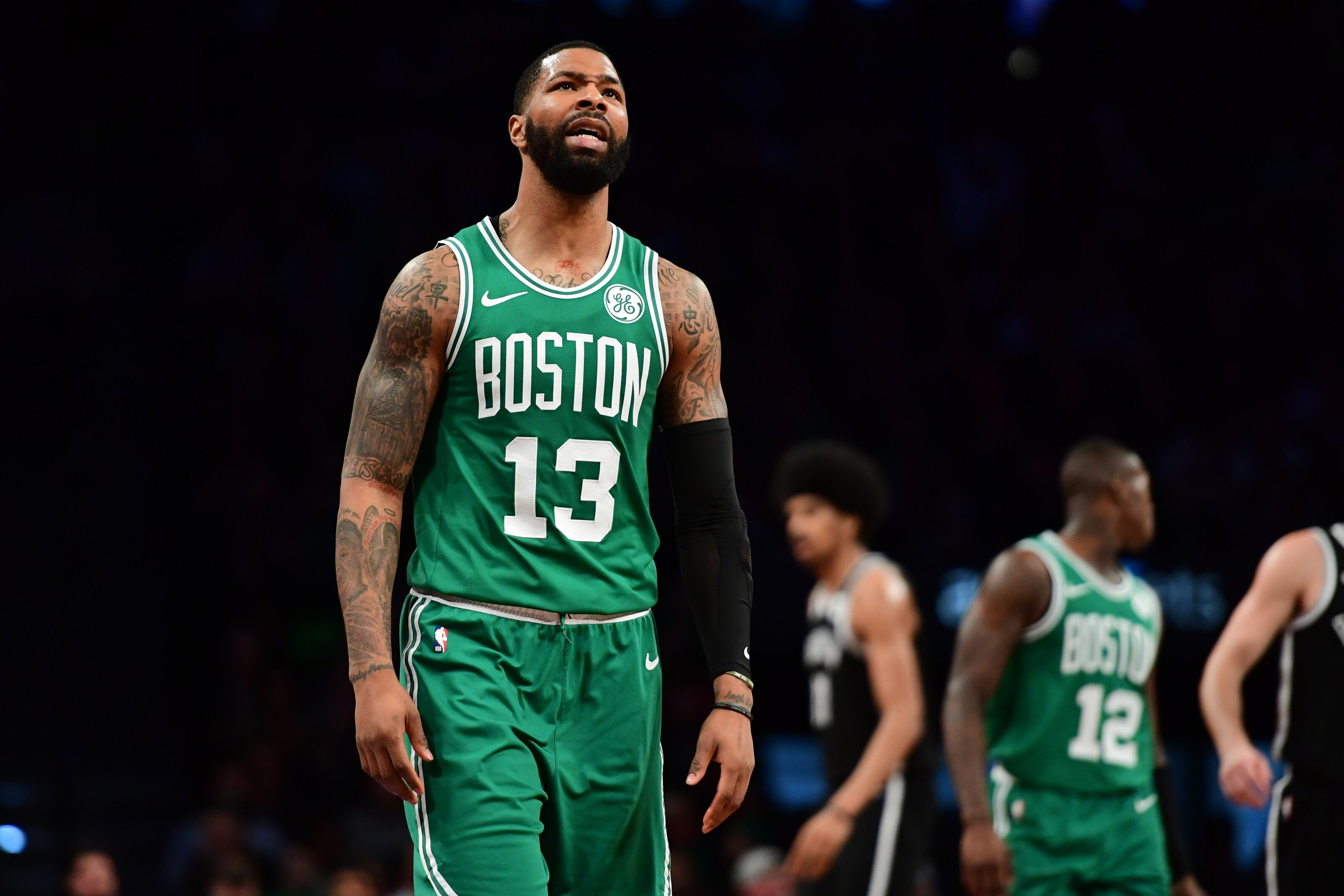 Marcus Morris throws shade at former Boston Celtics teammate Kyrie Irving