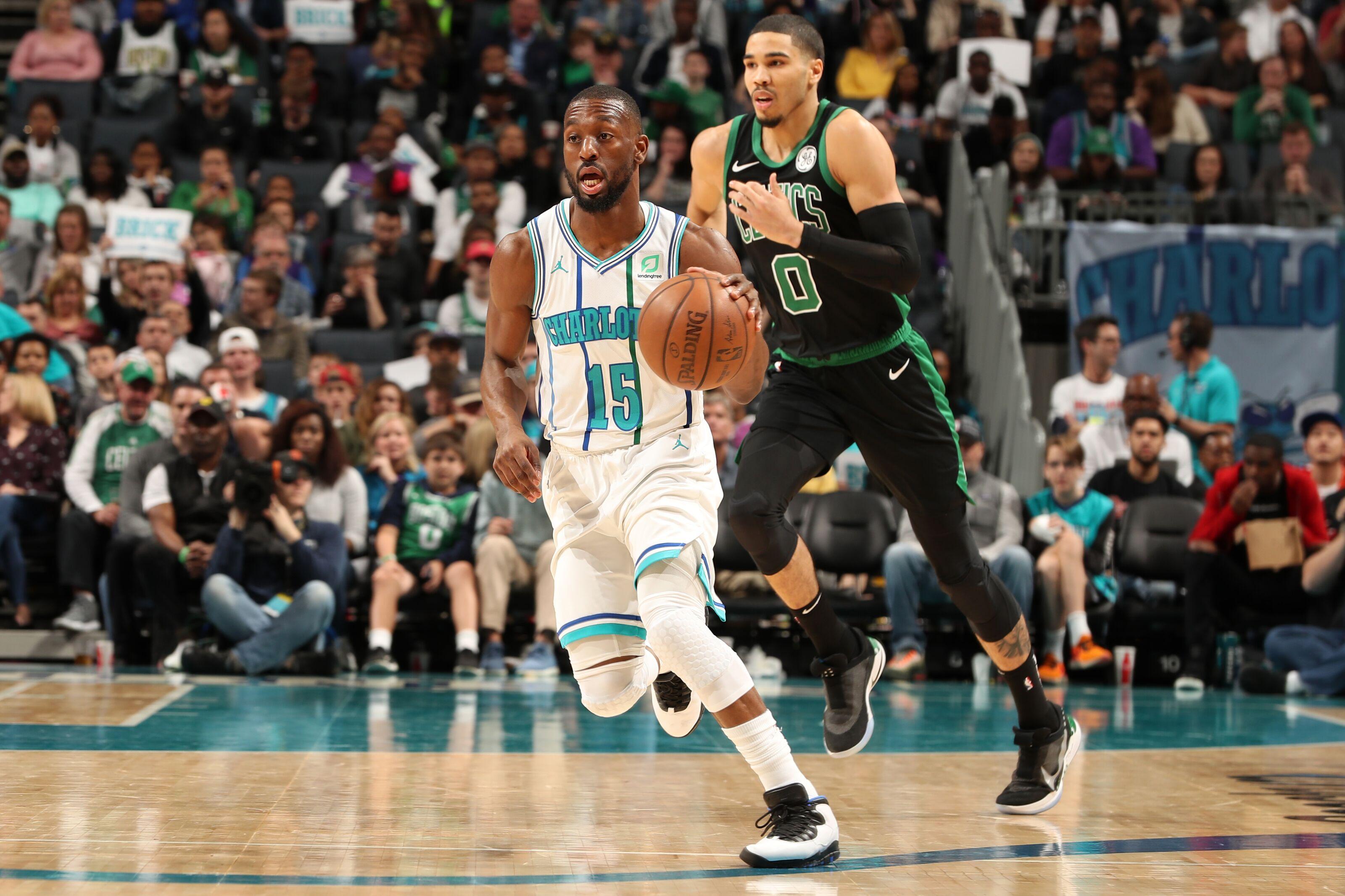 Projected Boston Celtics depth chart if Kemba Walker signs