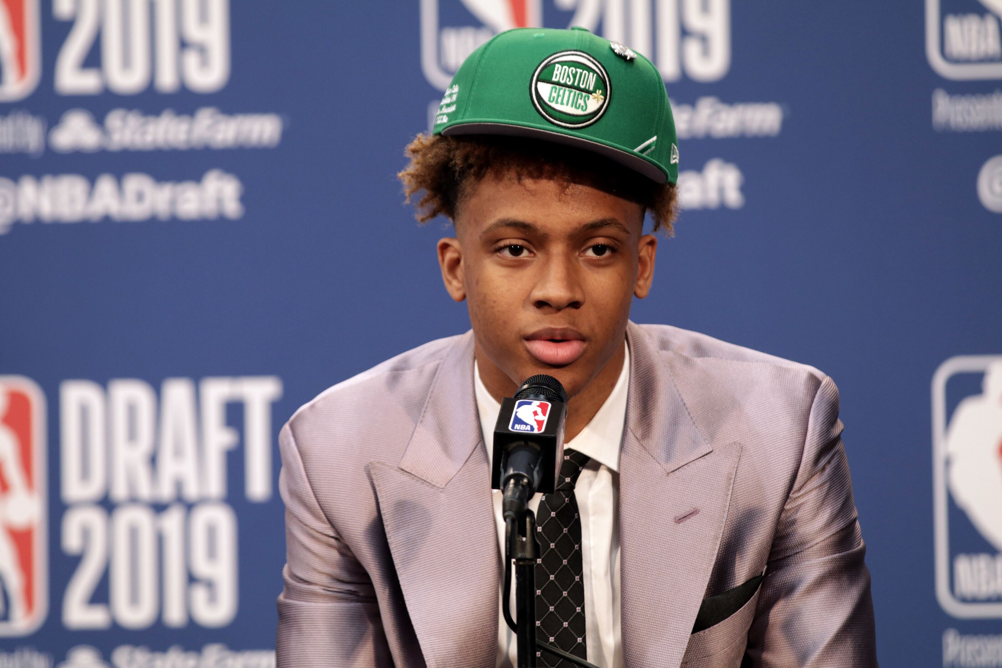 Where does Romeo Langford fit in with the Boston Celtics in year one?