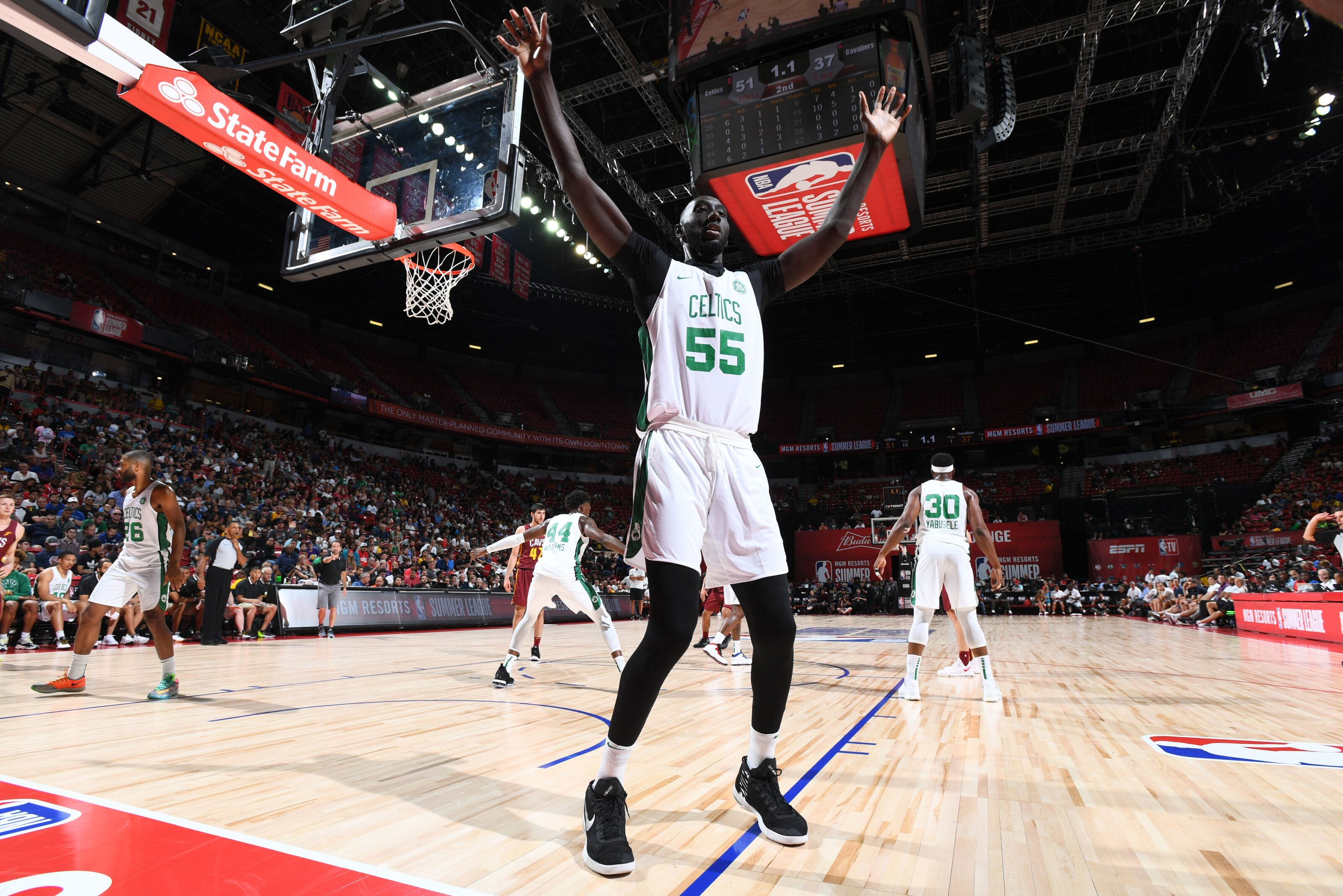 Boston Celtics: three players to get rid of to make room for Tacko Fall