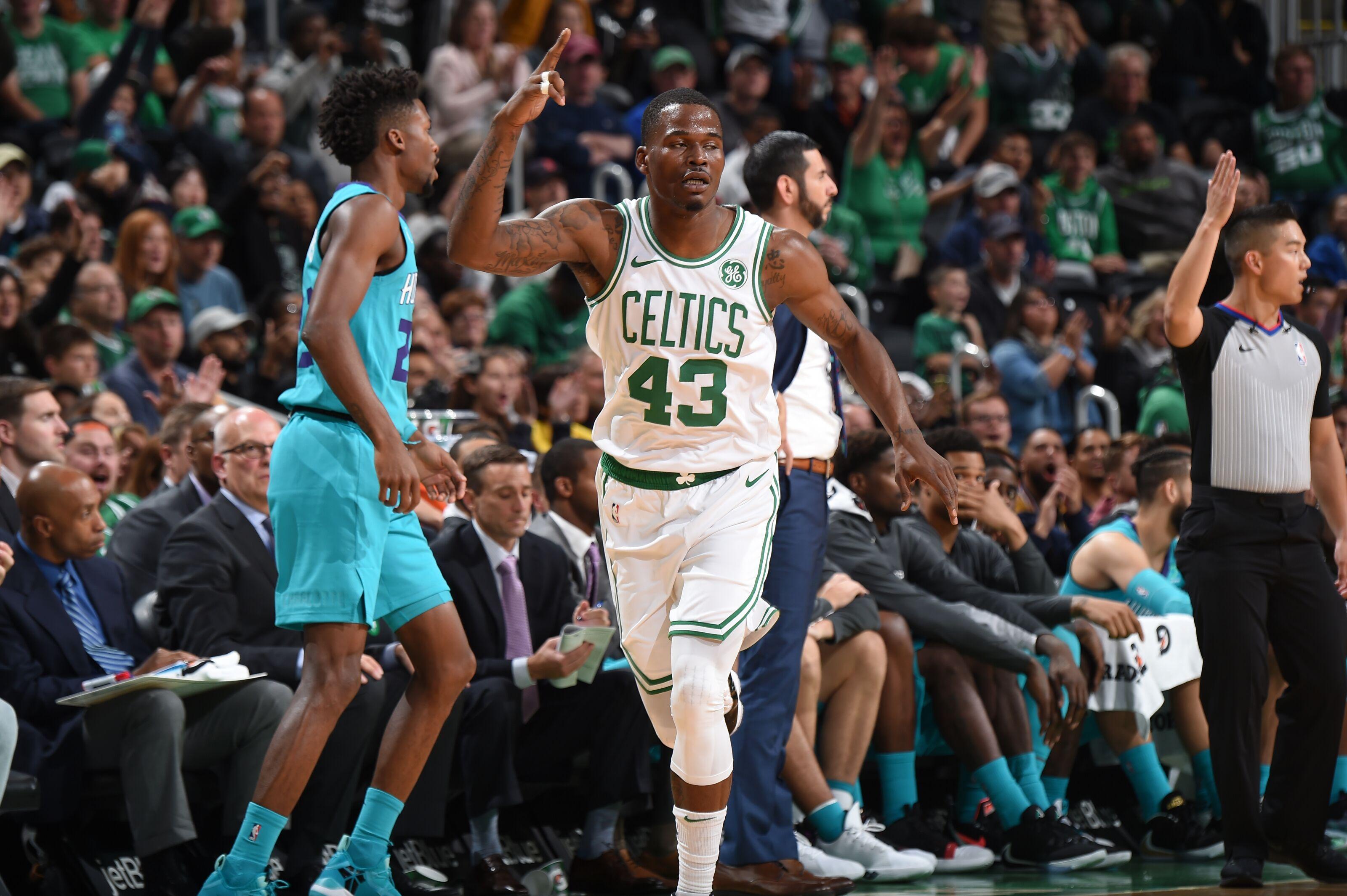 Javonte Green earns the Boston Celtics final roster spot
