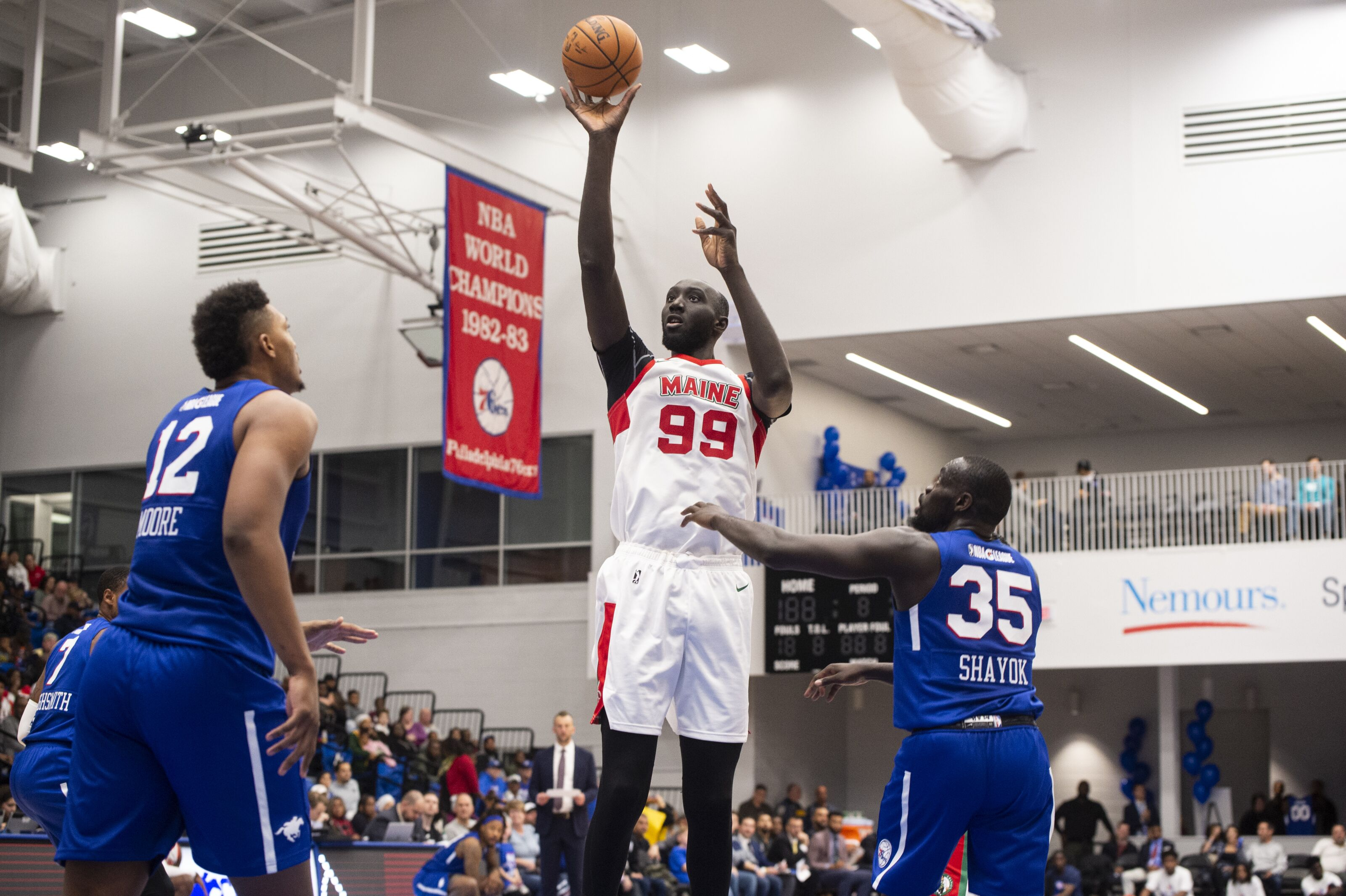 Boston Celtics: Tacko Fall is absolutely dominating with the Maine Red Claws