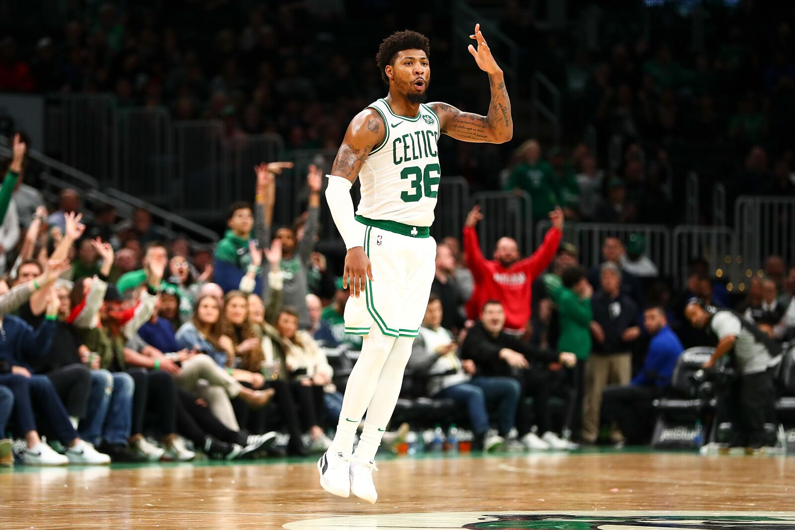 "The Boston Celtics' ""Player of the Week""- Marcus Smart"