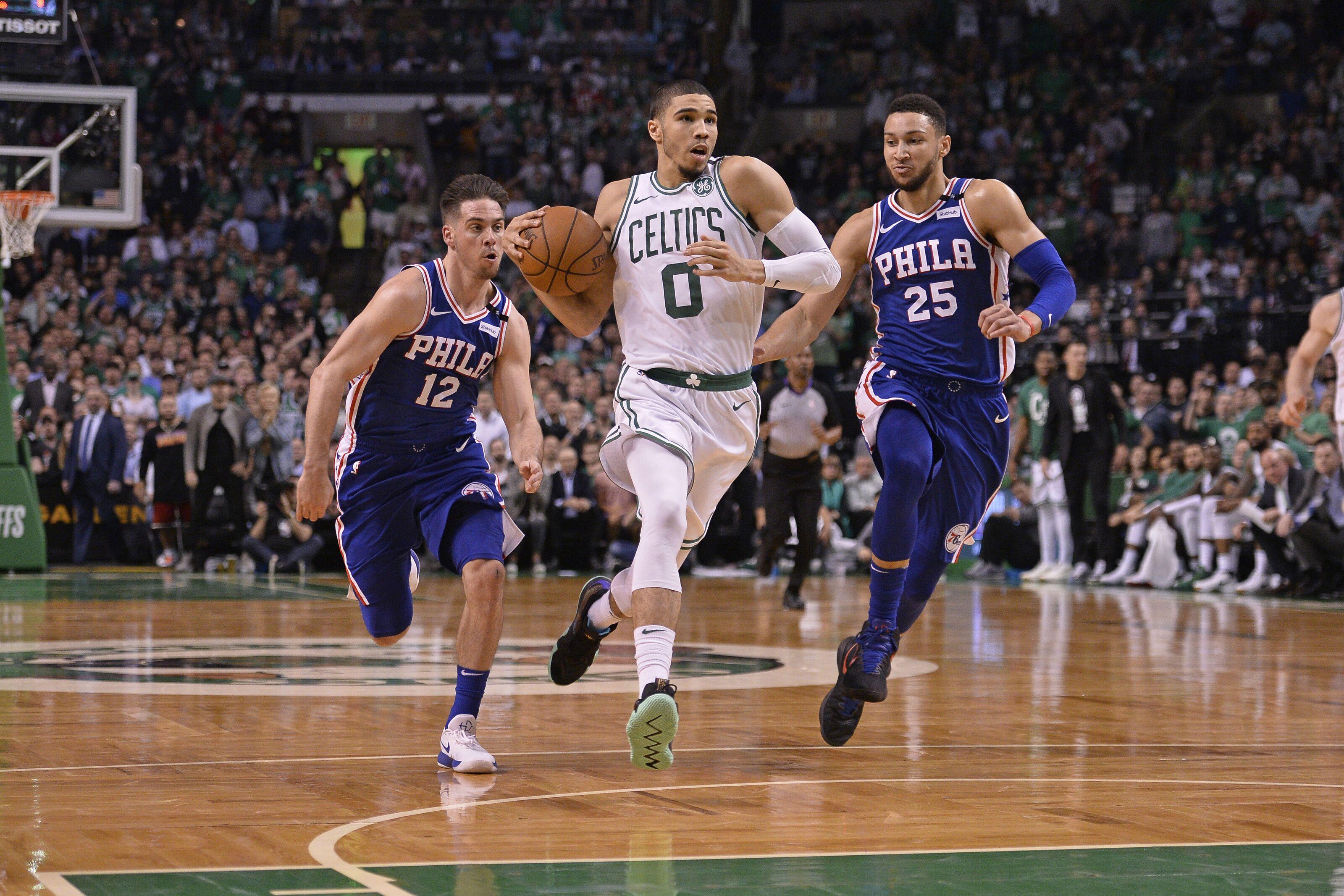 eec62b8d3ad Boston Celtics  Notes and TV Info for Opener vs. Philadelphia 76ers