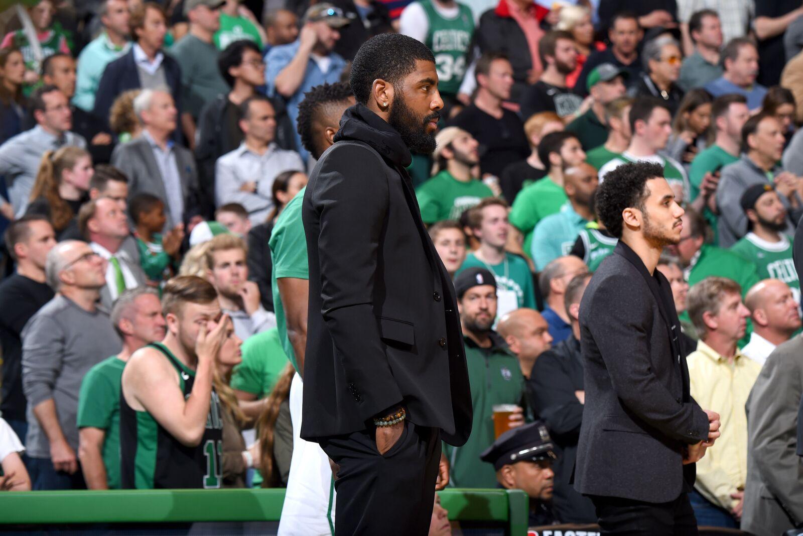Boston Celtics  Kyrie Irving shuts down extension talks 6e78df801