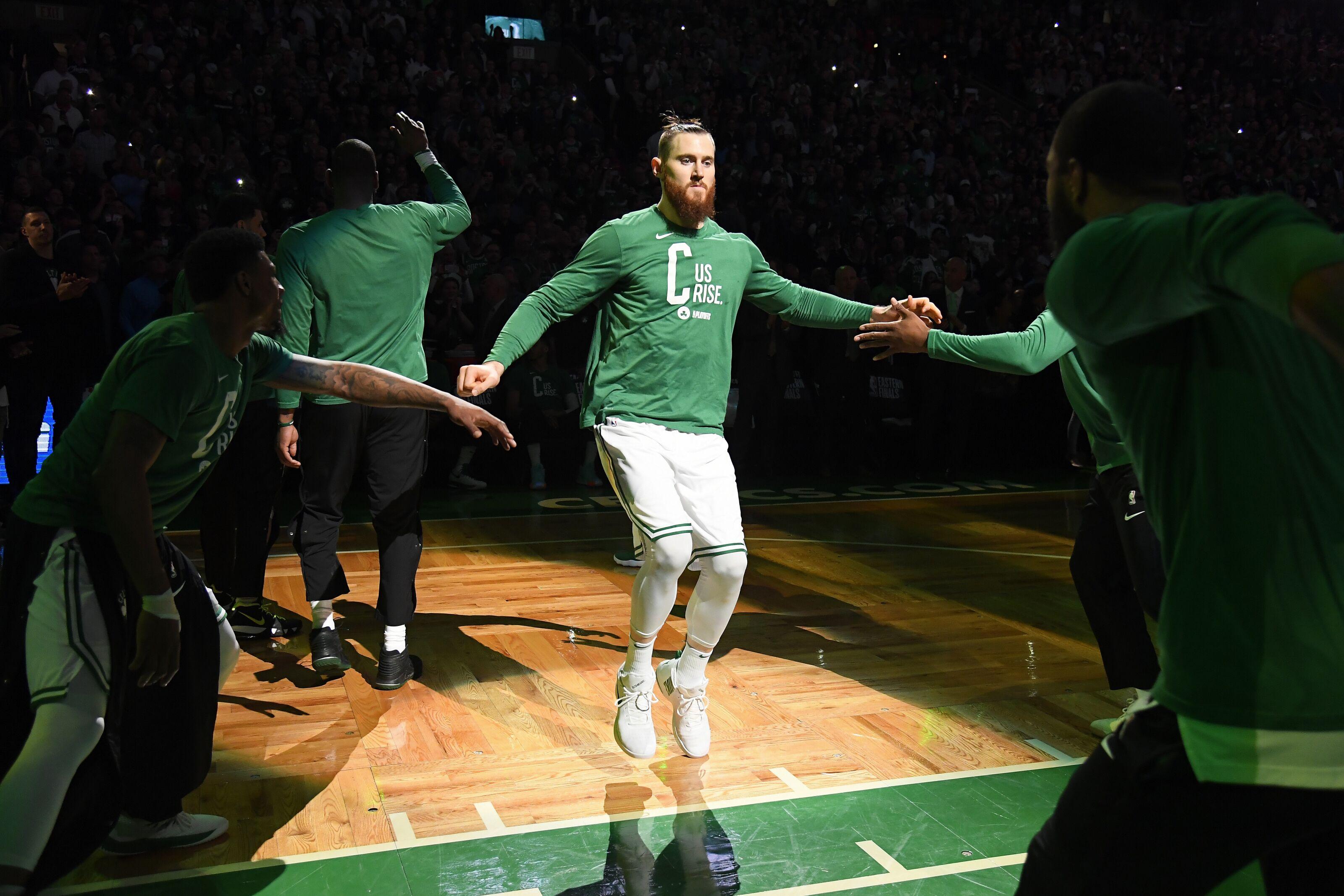 28c825e2f3b0 Boston Celtics  Aron Baynes confirms there was never any doubt