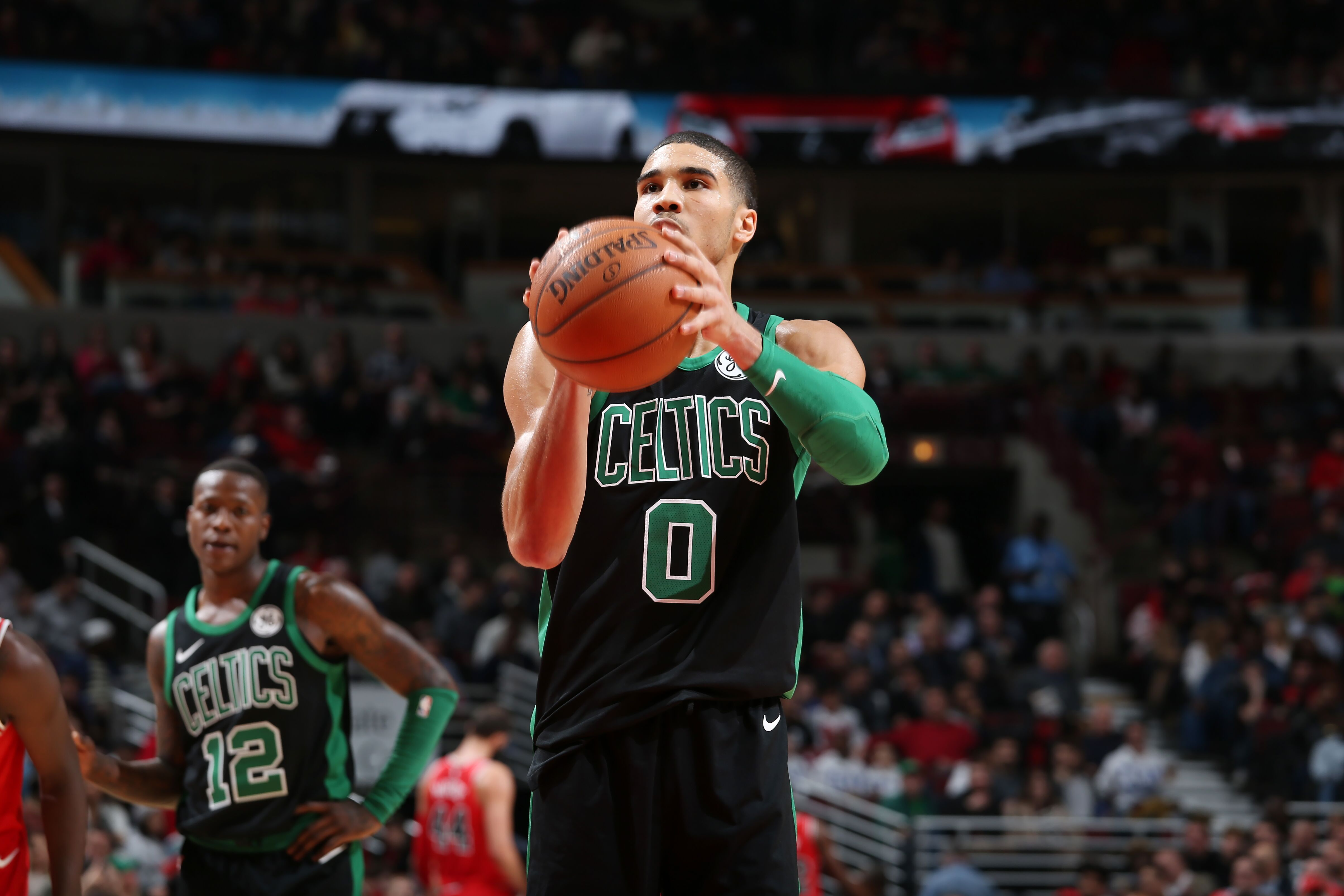 sports shoes 89433 39da4 Jayson Tatum With First Awful Shooting Night of the Season