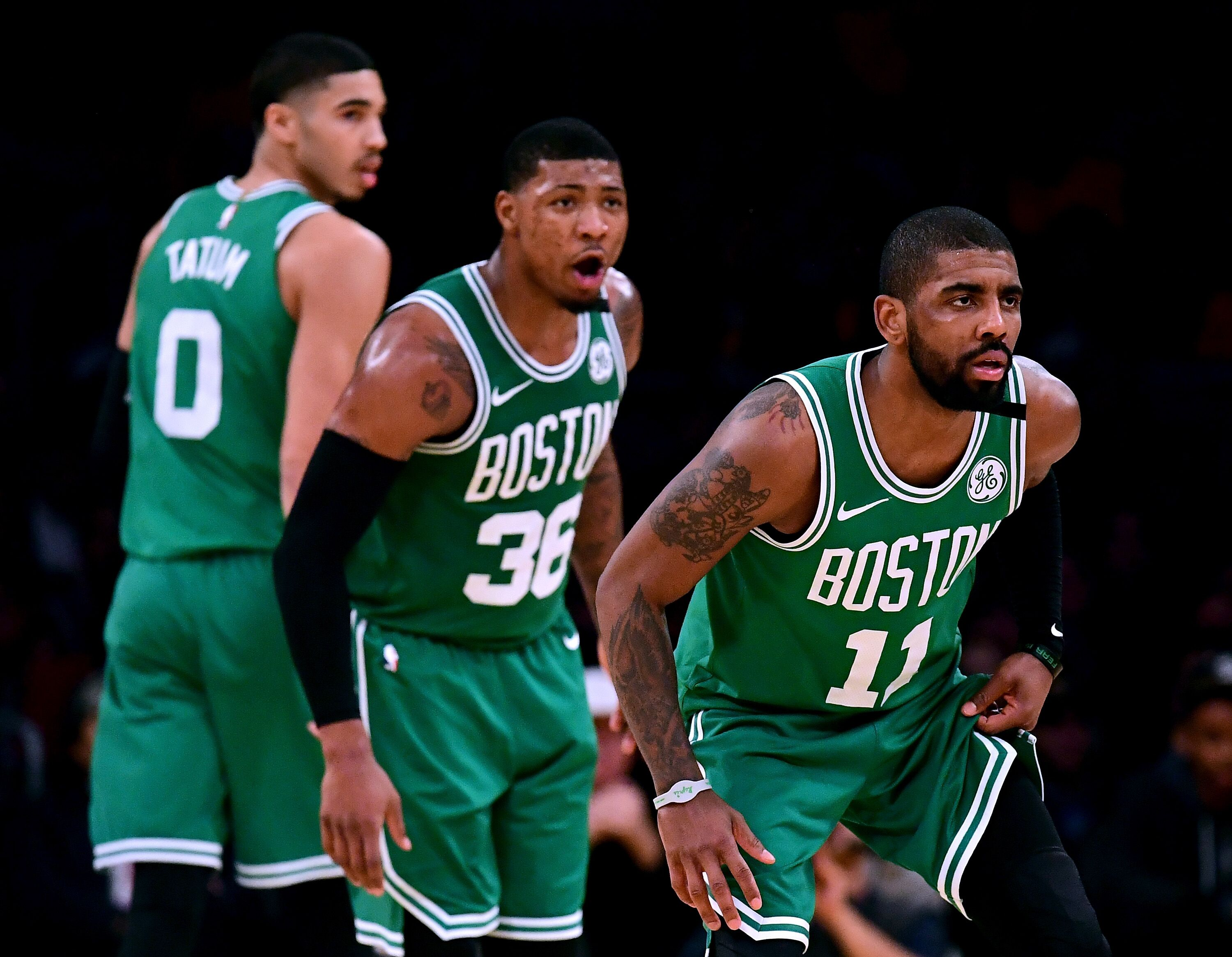 Boston Celtics  Kyrie Irving says he s excited to be part of the future 983567f07