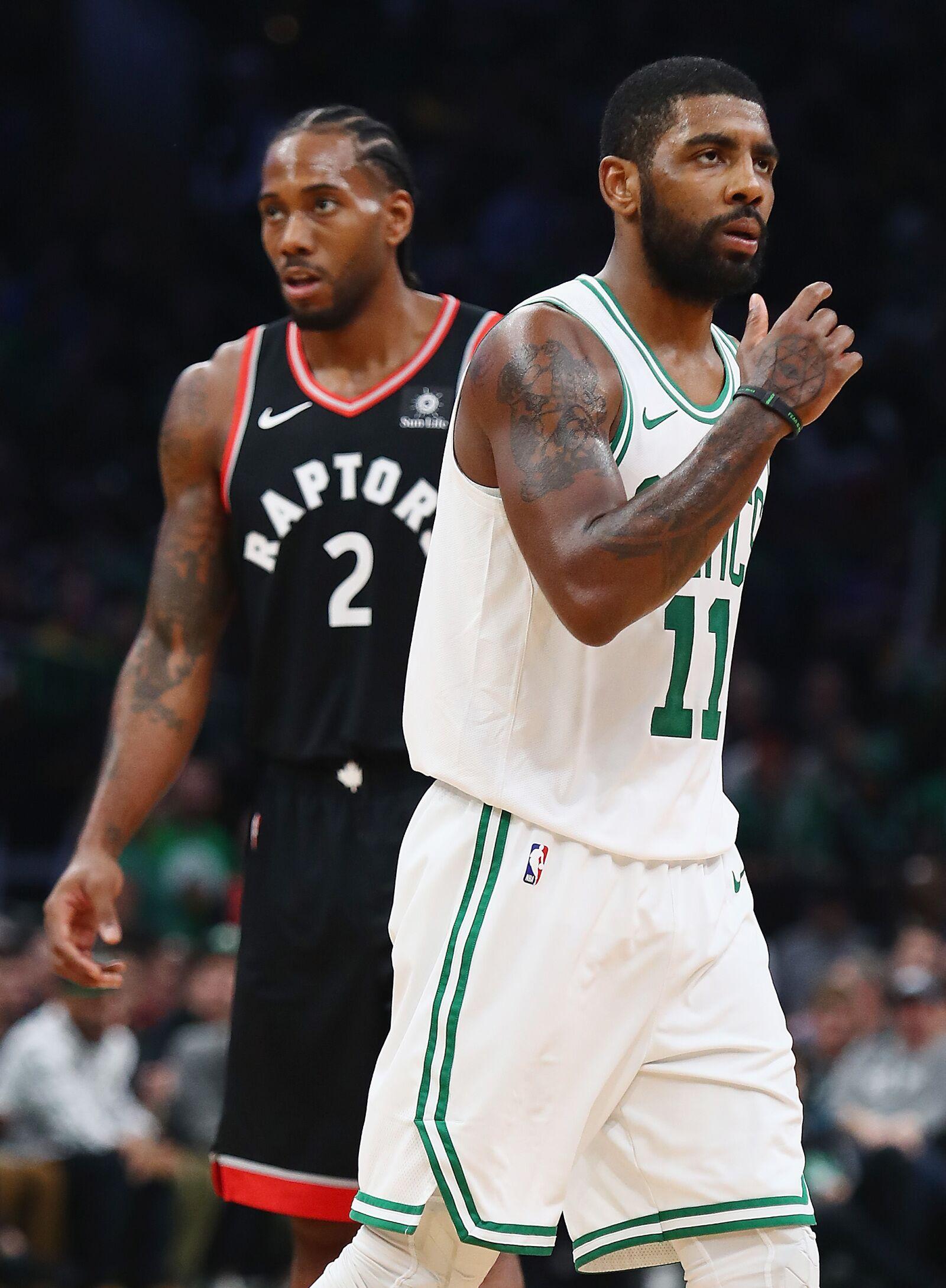 Kawhi Leonard setting example Boston Celtics should follow