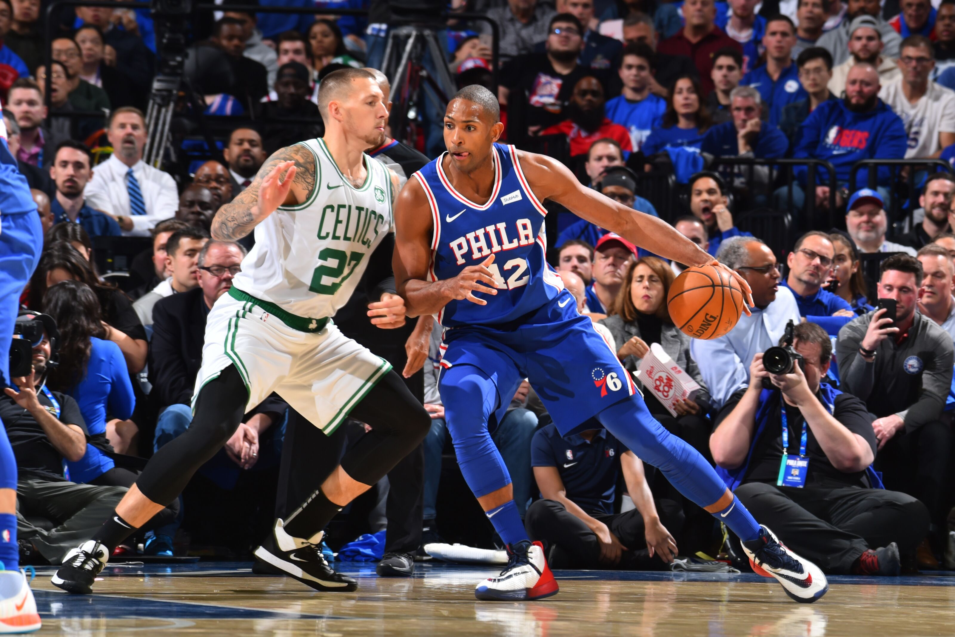 How are the Boston Celtics managing to dominate without Al Horford?