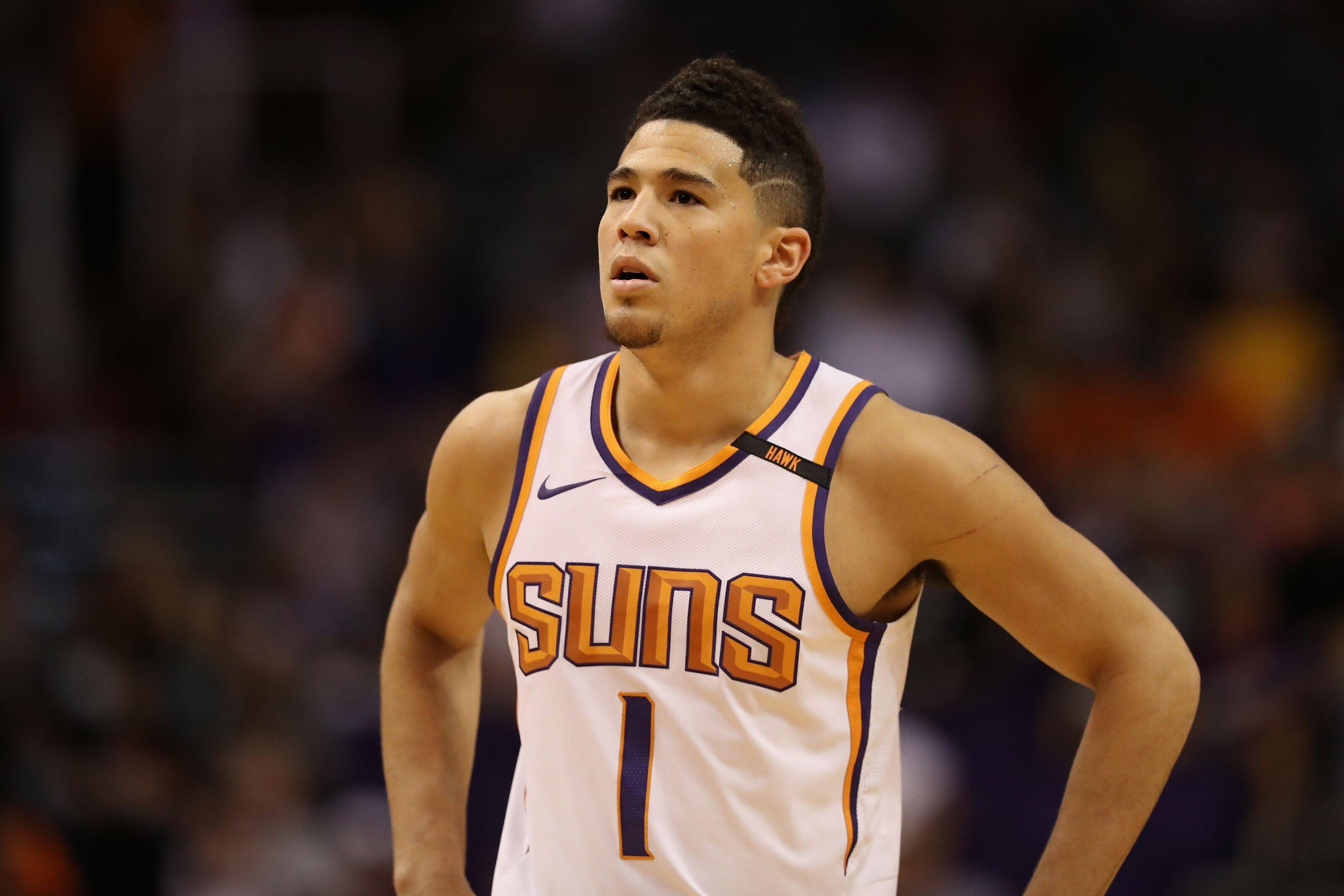 Phoenix Suns  Devin Booker out