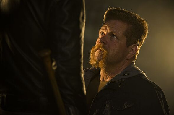 Michael Cudlitz as Sgt. Abraham Ford- The Walking Dead _ Season 7, Episode 1 - Photo Credit: Gene Page/AMC. Acquired from AMC Networks Press Room.