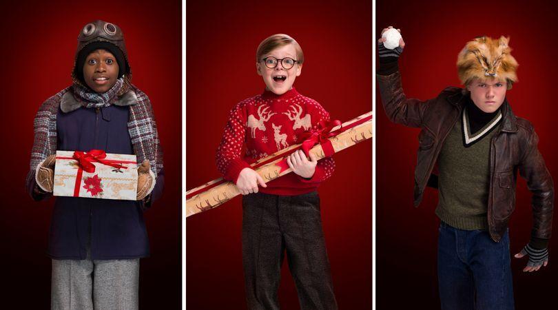 Christmas Story Cast.A Christmas Story Live Meet The Cast Fox S New Musical Event