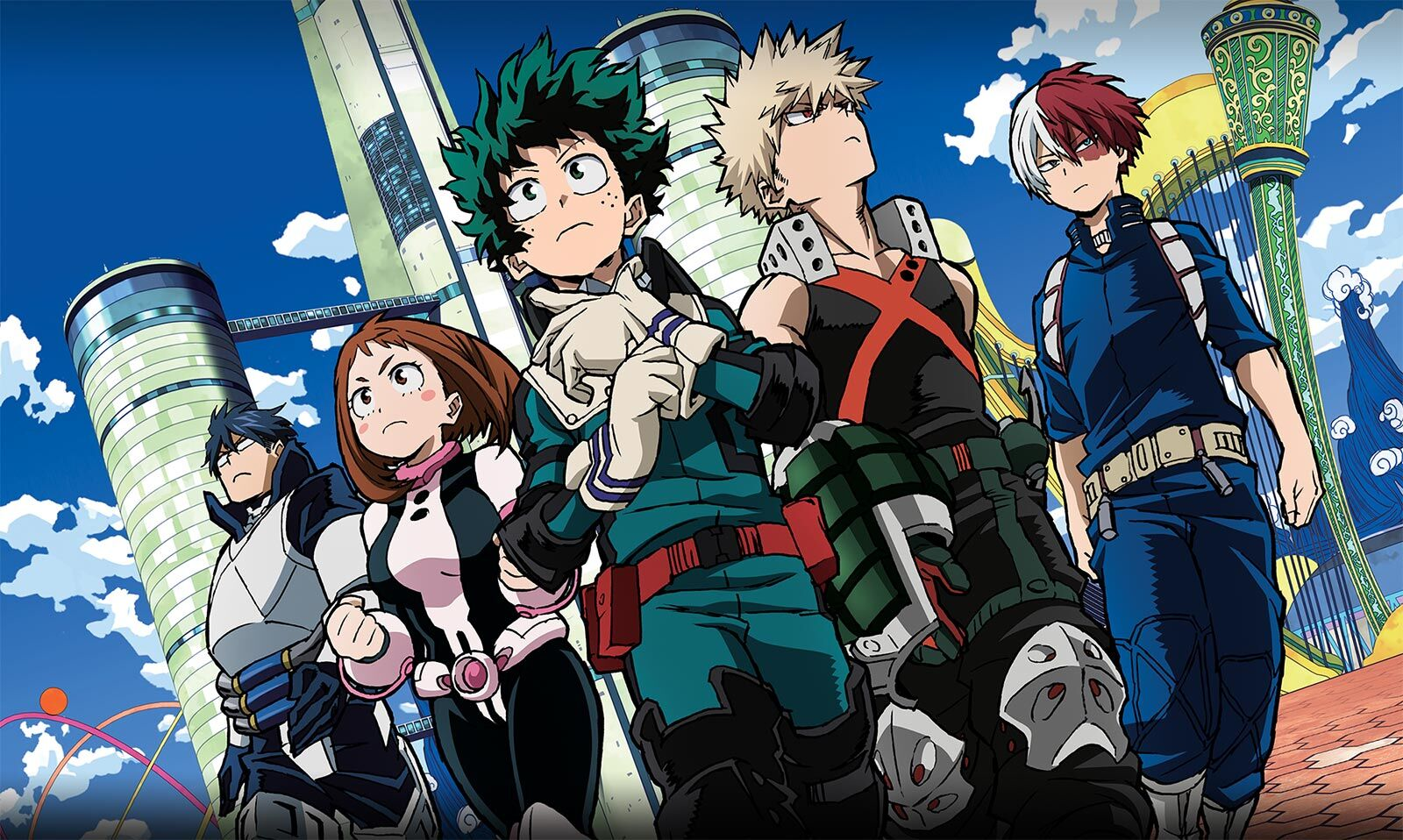 Second My Hero Academia film gets North American release date