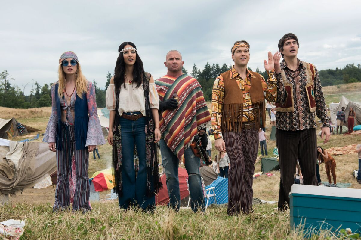 When does Legends of Tomorrow come back in 2019?