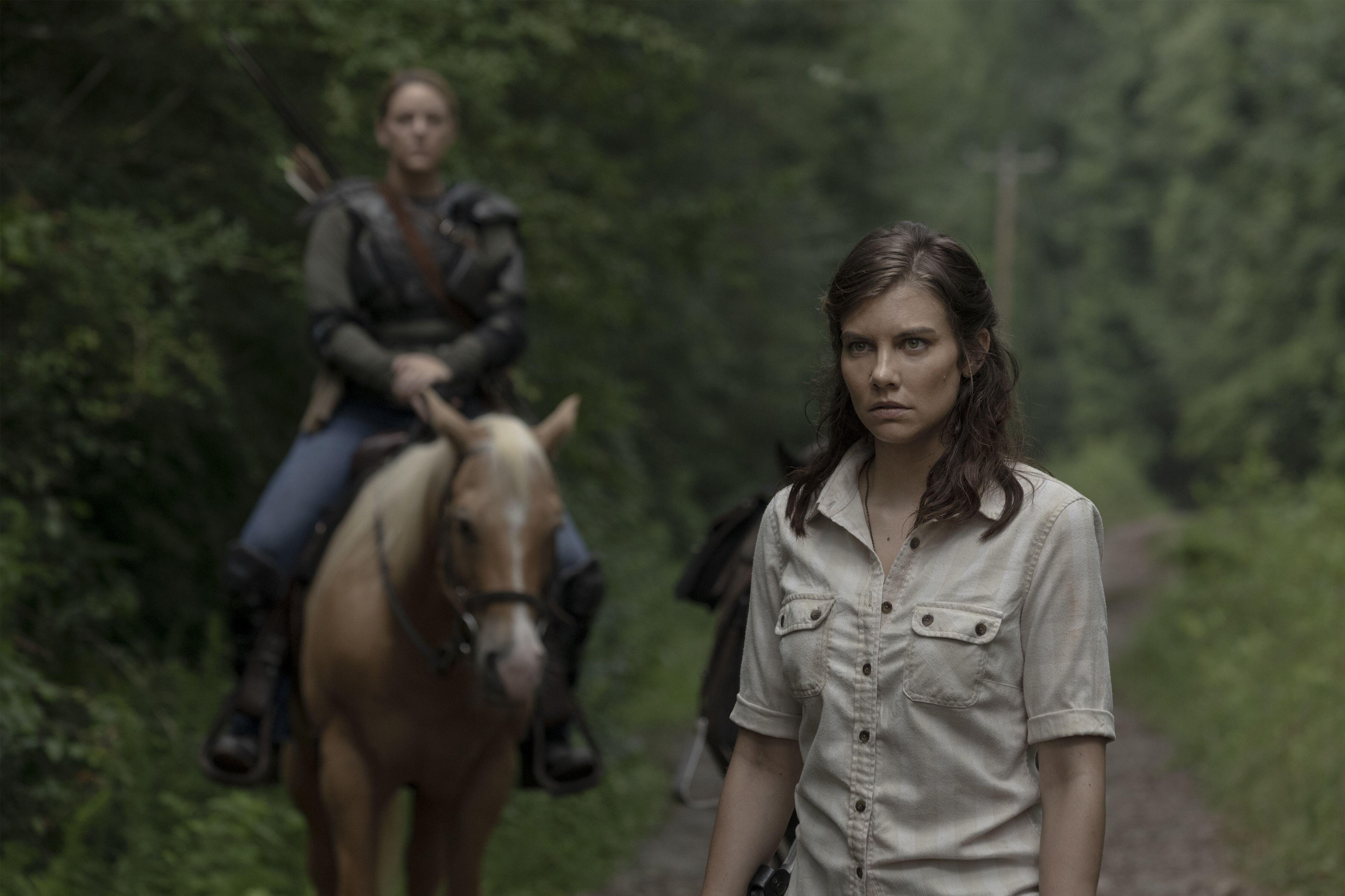 When is Lauren Cohan returning to The Walking Dead?