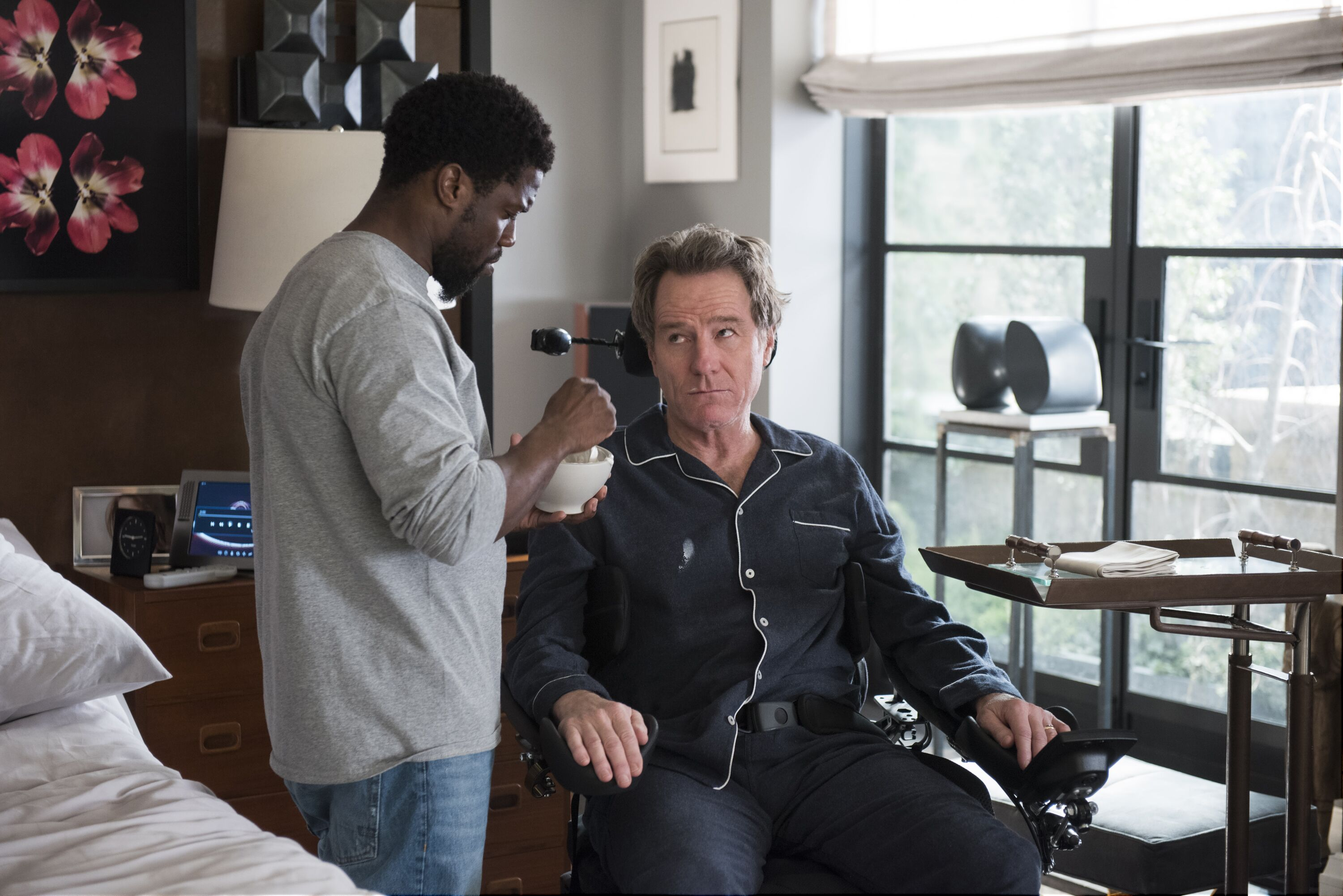 The Upside movie from the perspective of a disabled viewer