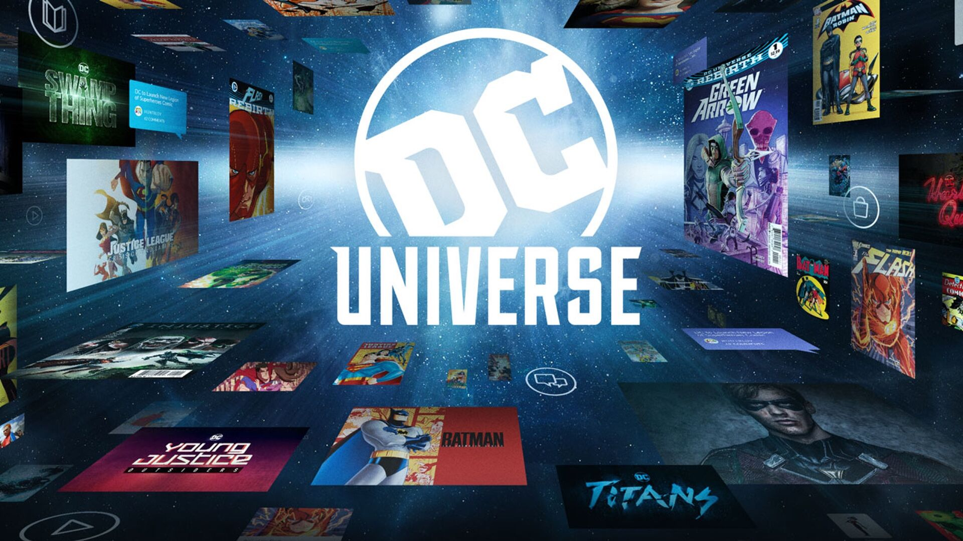 DC Universe to unlock digital comic library, expands content slate