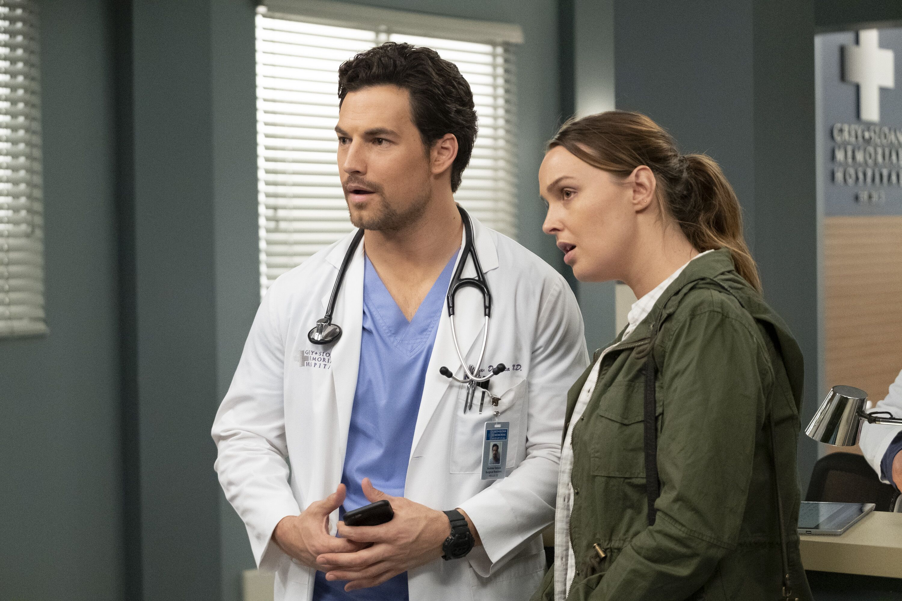 andrew greys anatomy cast - HD 2700×1800