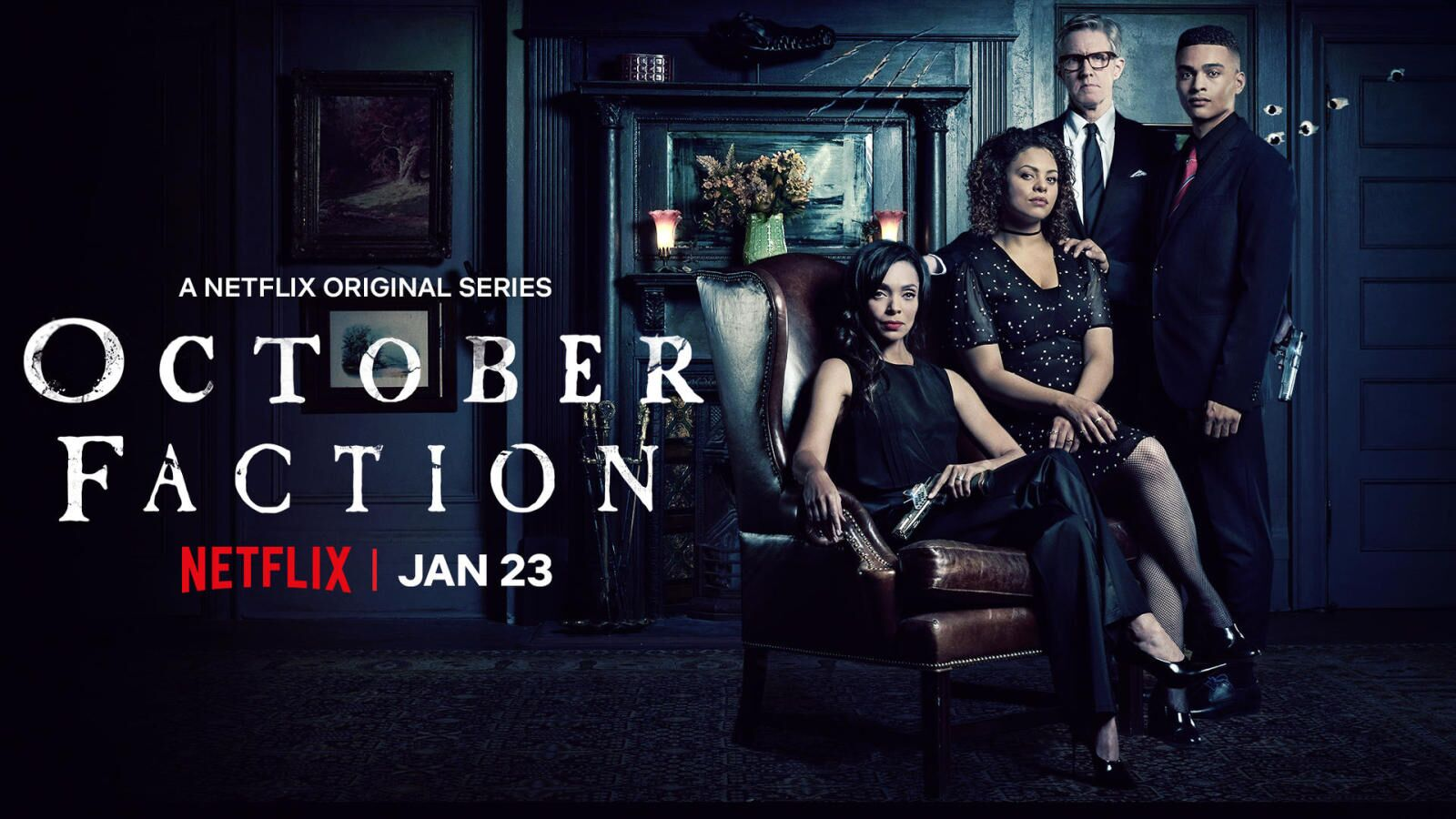 Watch October Faction: Now streaming on Netflix