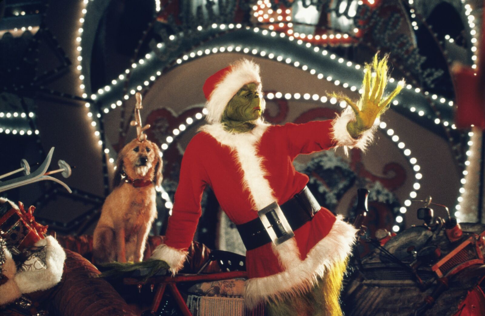 Where can you stream How the Grinch Stole Christmas for the holidays?