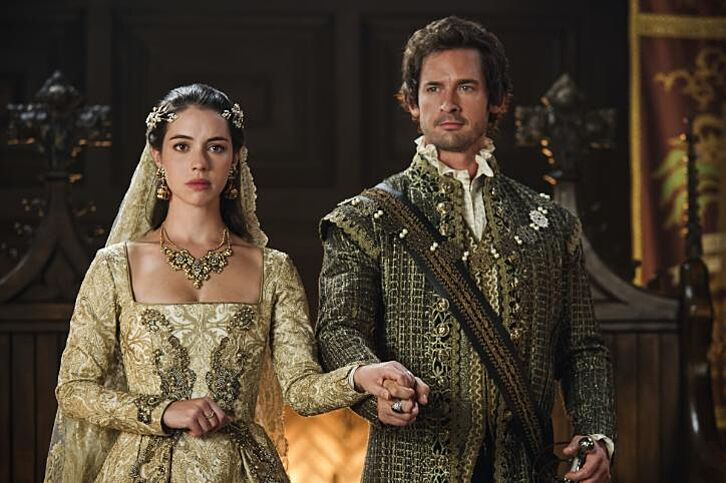 Reign season 4 recap 5 top events from pulling strings for Last season wedding dresses