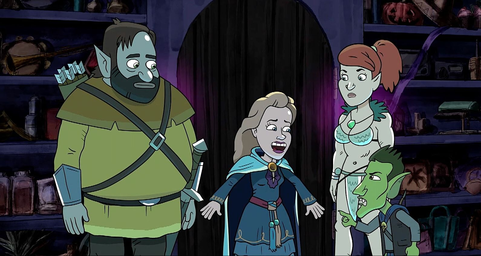 HarmonQuest Season 2, Episode 6 preview: The Barely Cursed Bazaar of