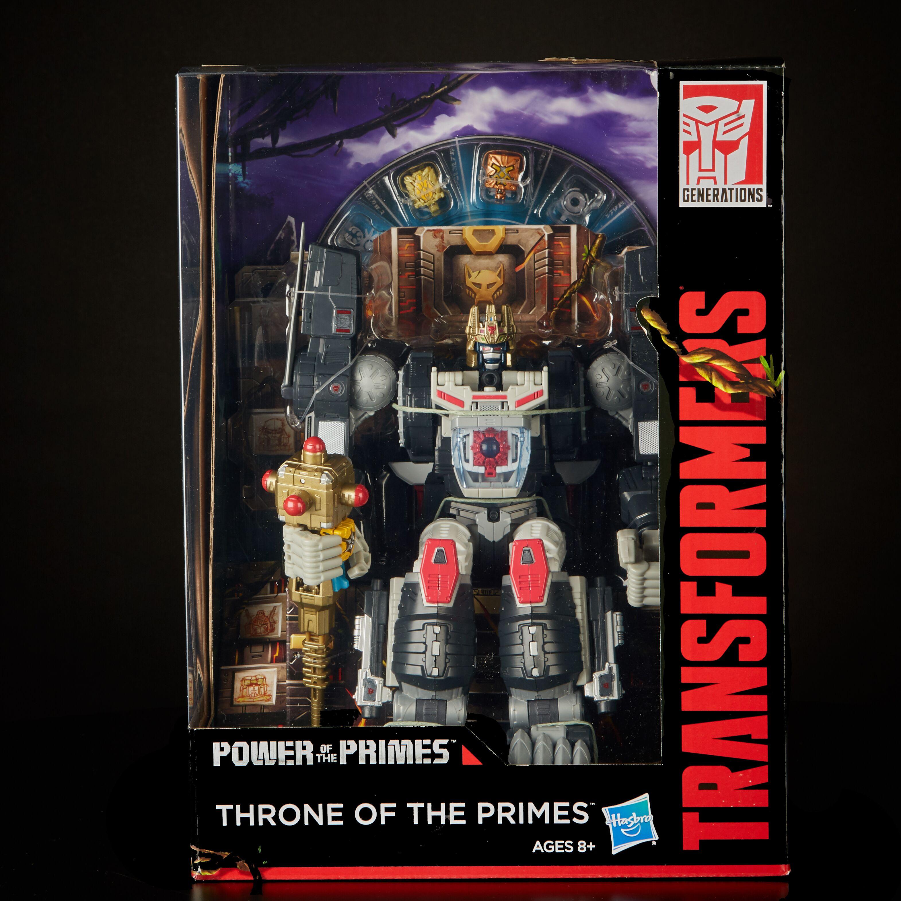 Comic Con Exclusive Hasbro Throne Of The Primes Figure