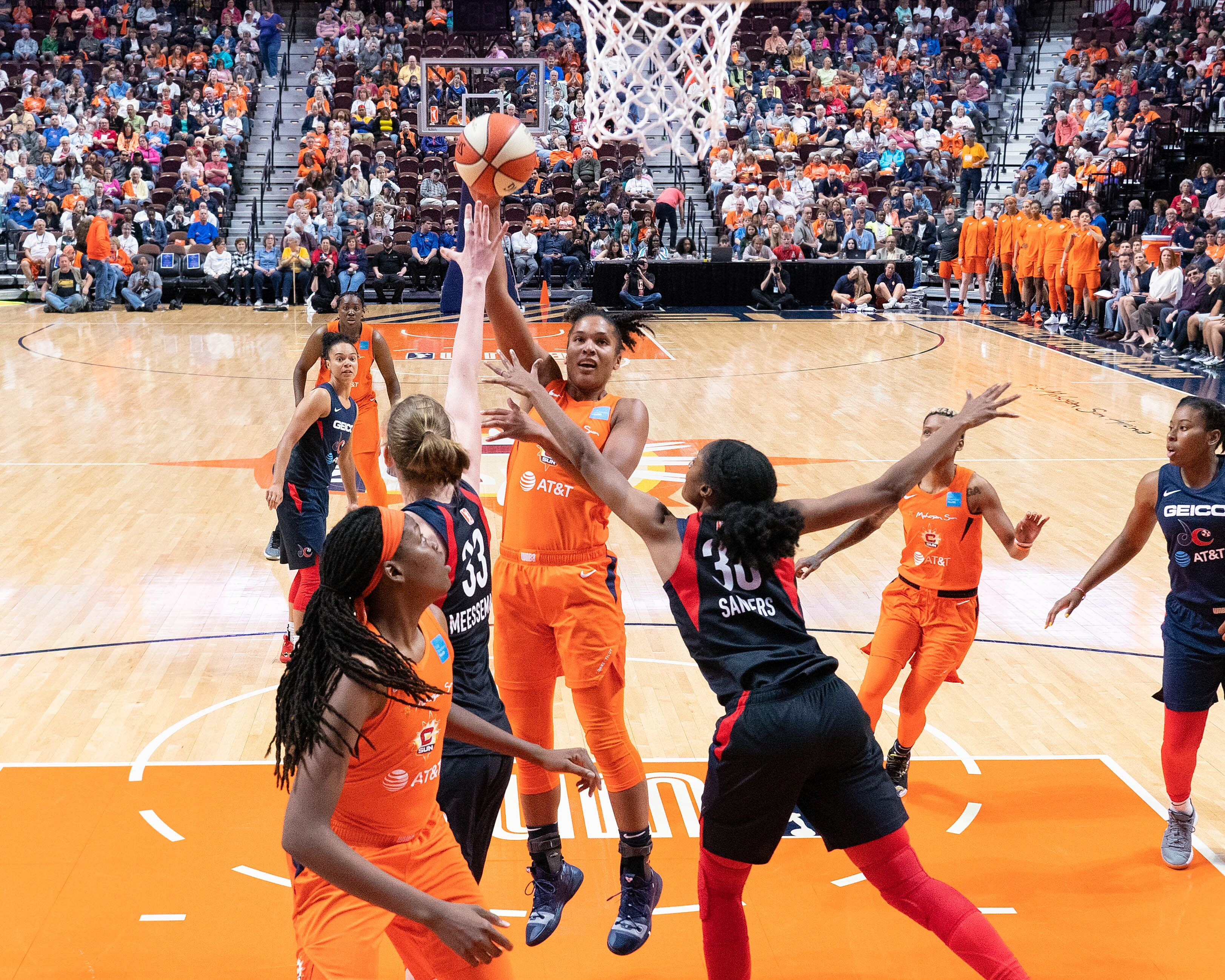 WNBA News: Takeaways From Connecticut Sun Win Over Mystics