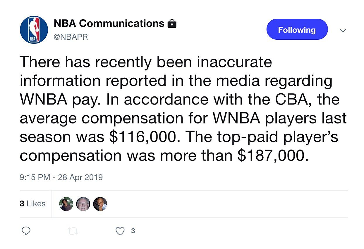 WNBA salary breakdowns, team-by-team edition, from High Post