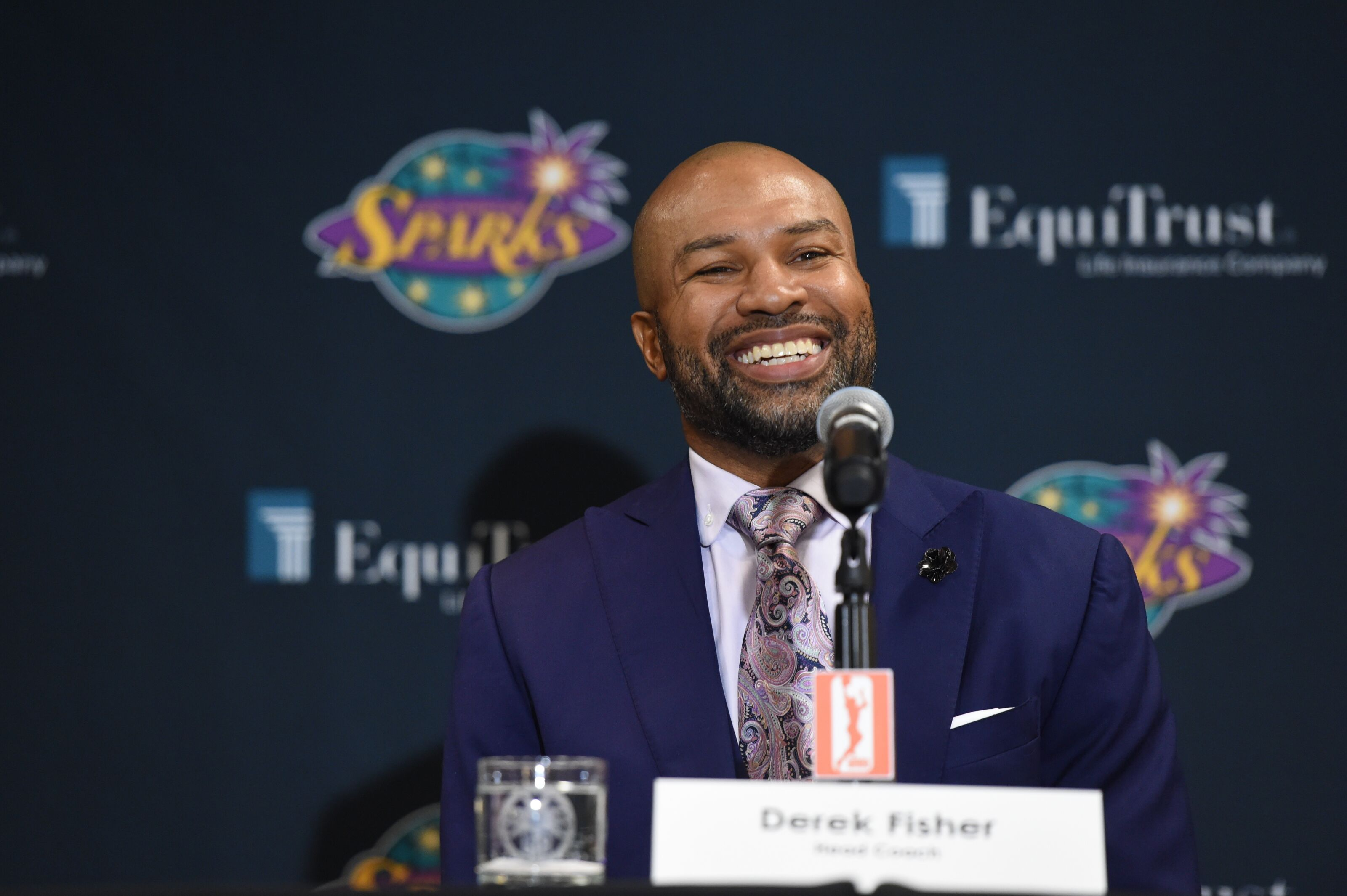 PODCAST: New coach Derek Fisher talks Los Angeles Sparks opportunity