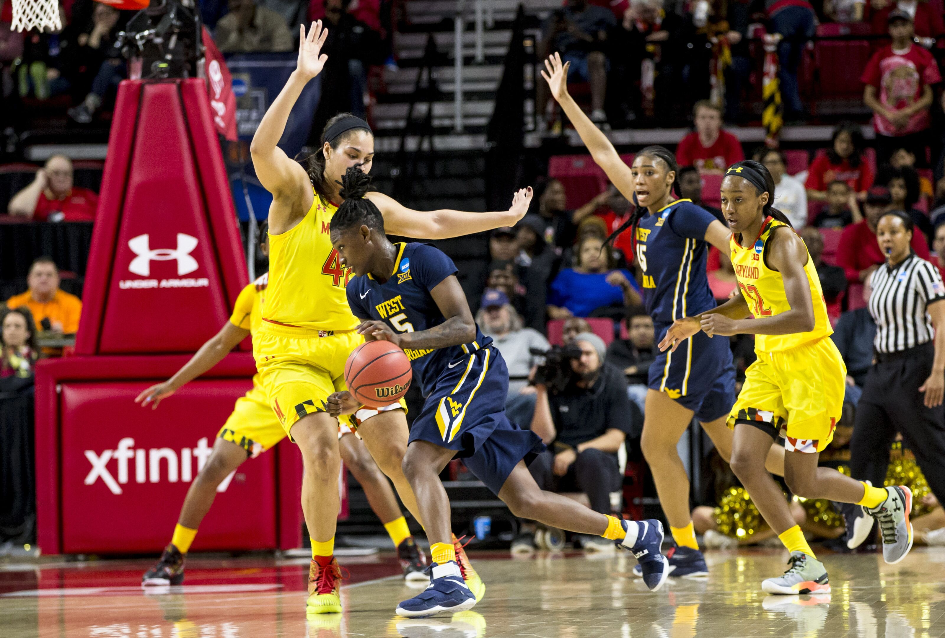 This Week in the Big 12: West Virginia's Tynice Martin is back in a big way