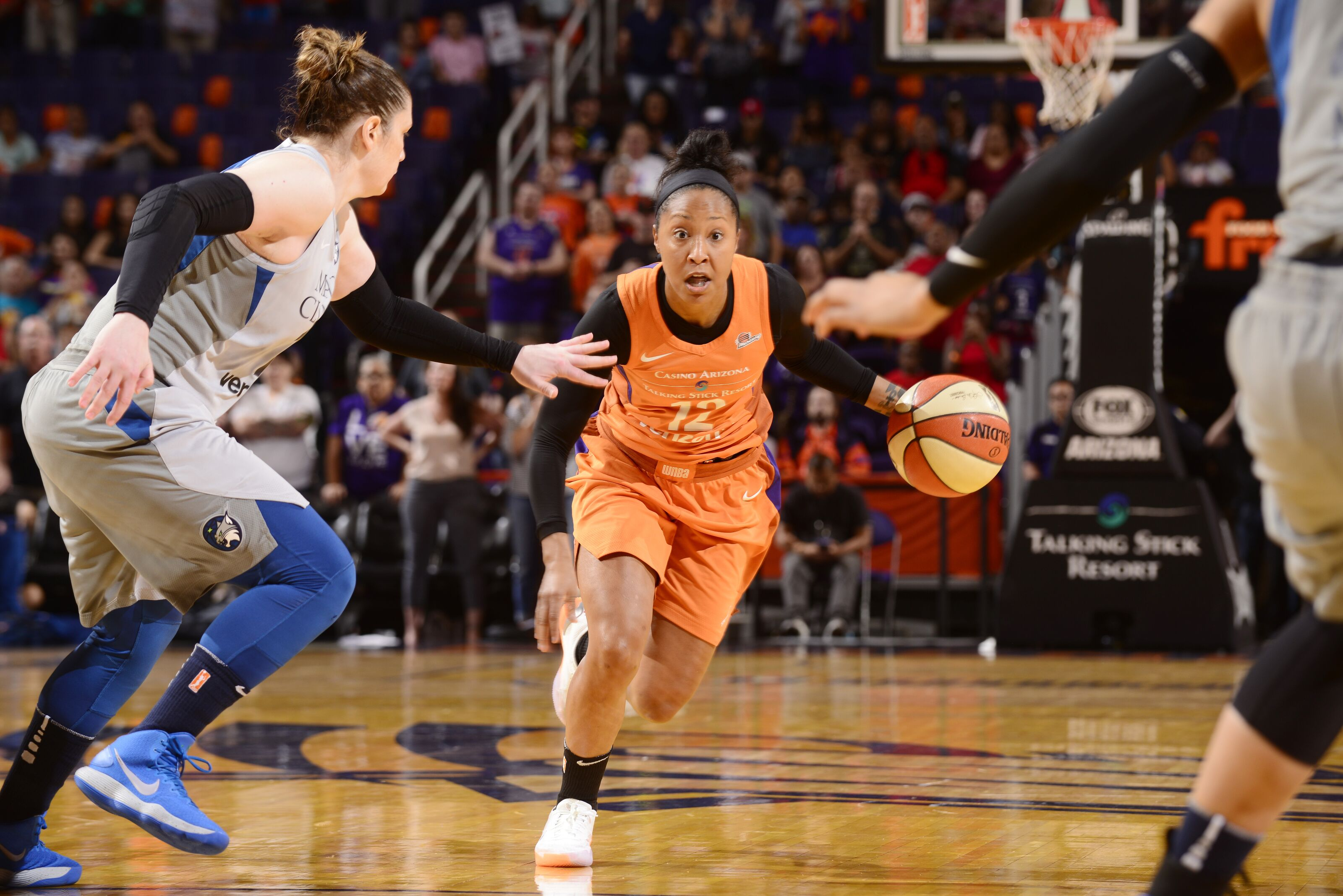 Did the Phoenix Mercury turn a corner against the Sparks?