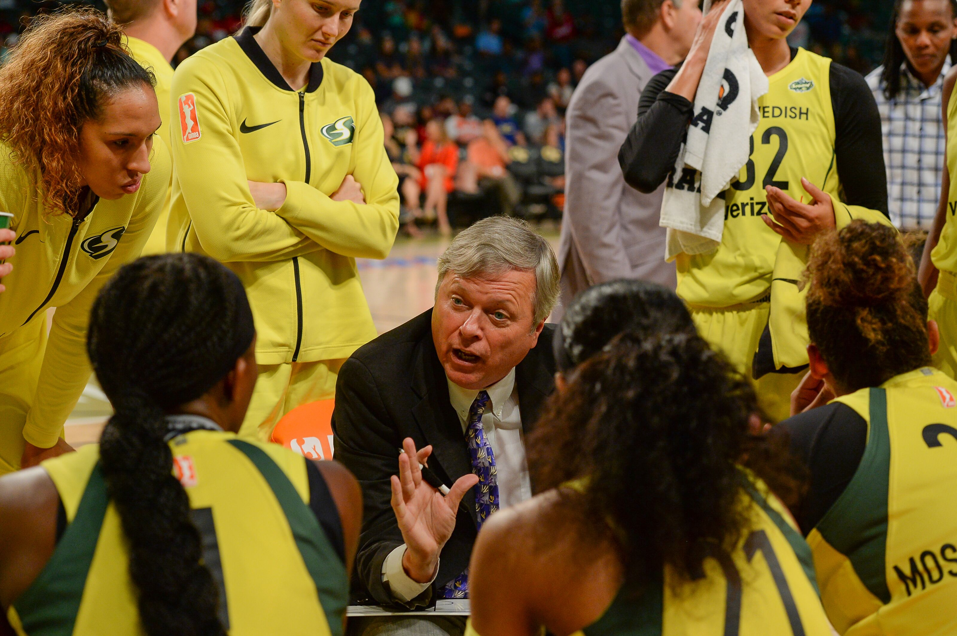 Dan Hughes to rejoin Seattle Storm bench after cancer surgery